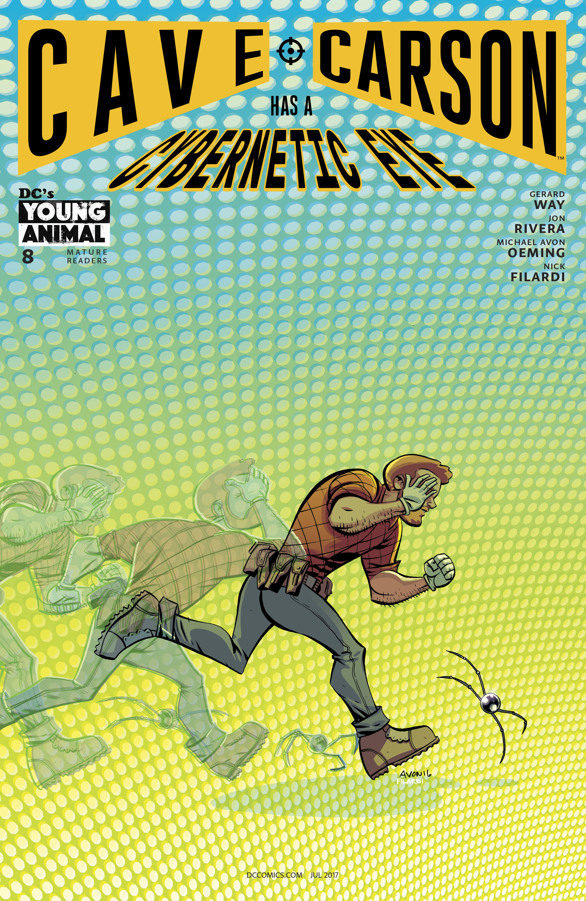 Read online Cave Carson Has a Cybernetic Eye comic -  Issue #8 - 1