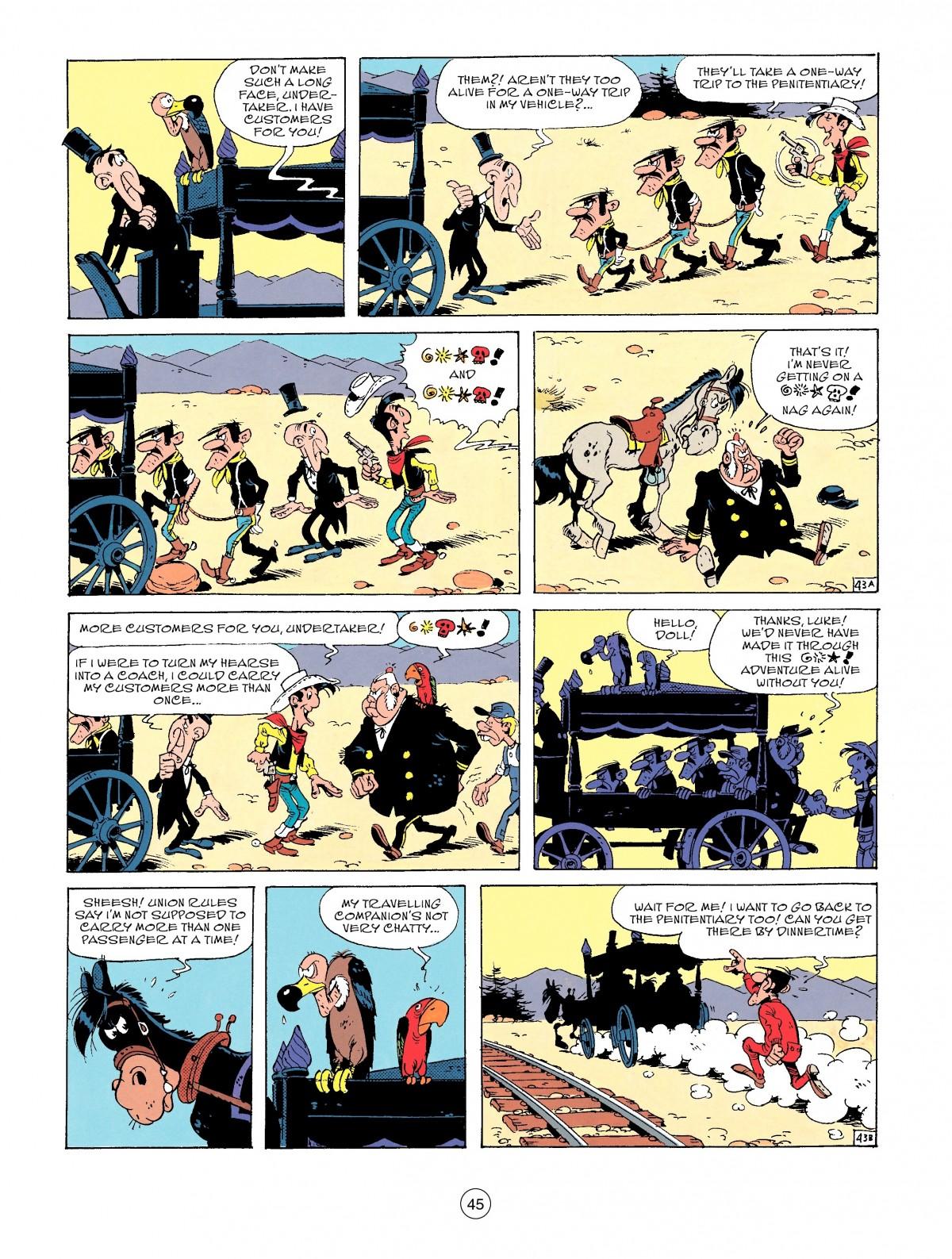 Read online A Lucky Luke Adventure comic -  Issue #53 - 45