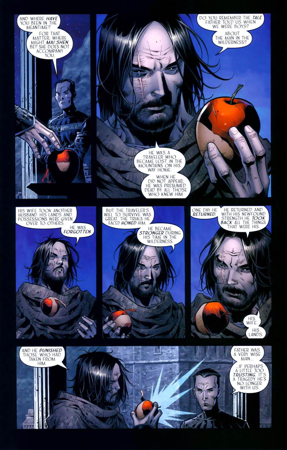 Read online Scion comic -  Issue #31 - 15