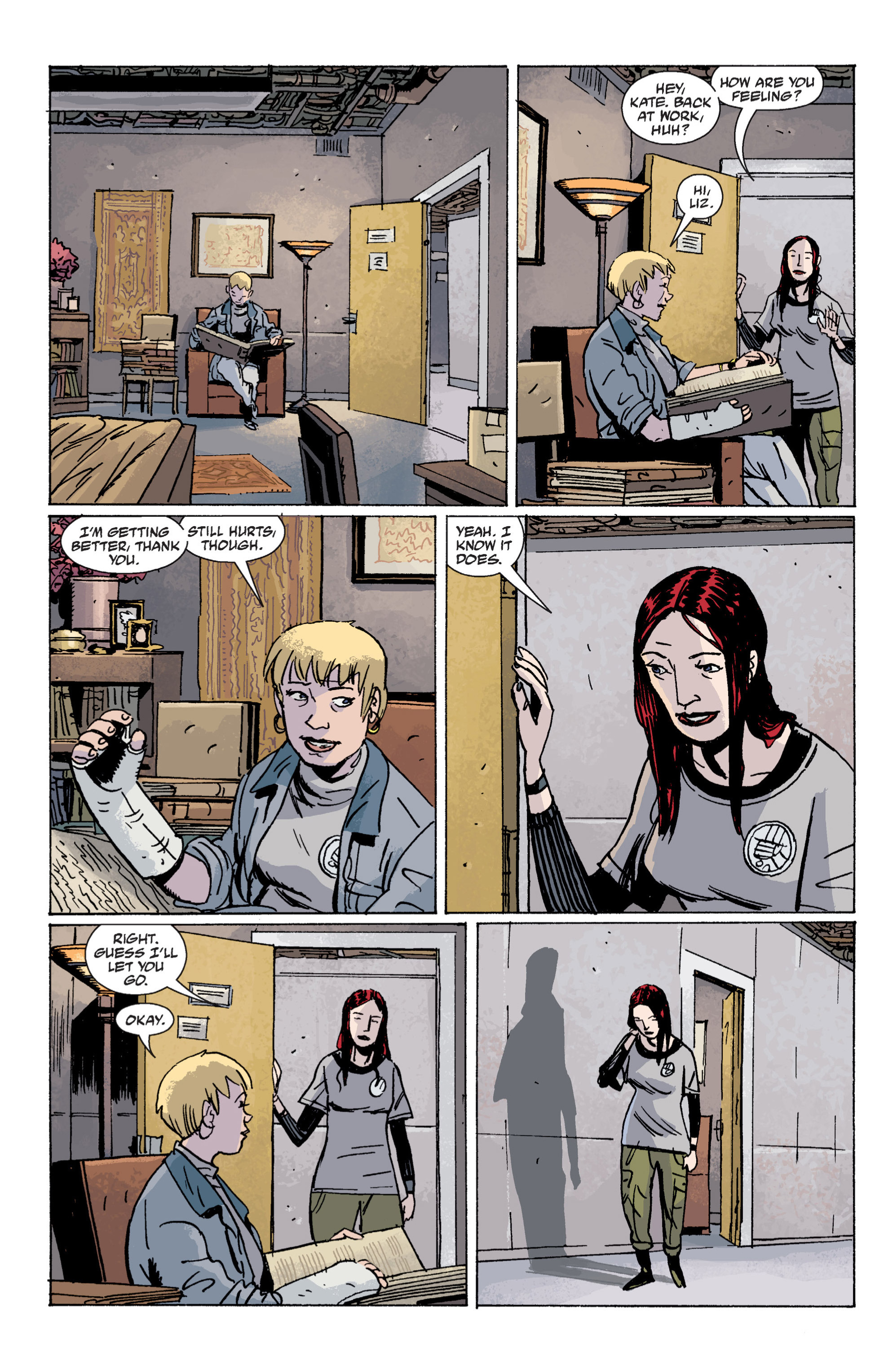 Read online B.P.R.D. (2003) comic -  Issue # TPB 7 - 29