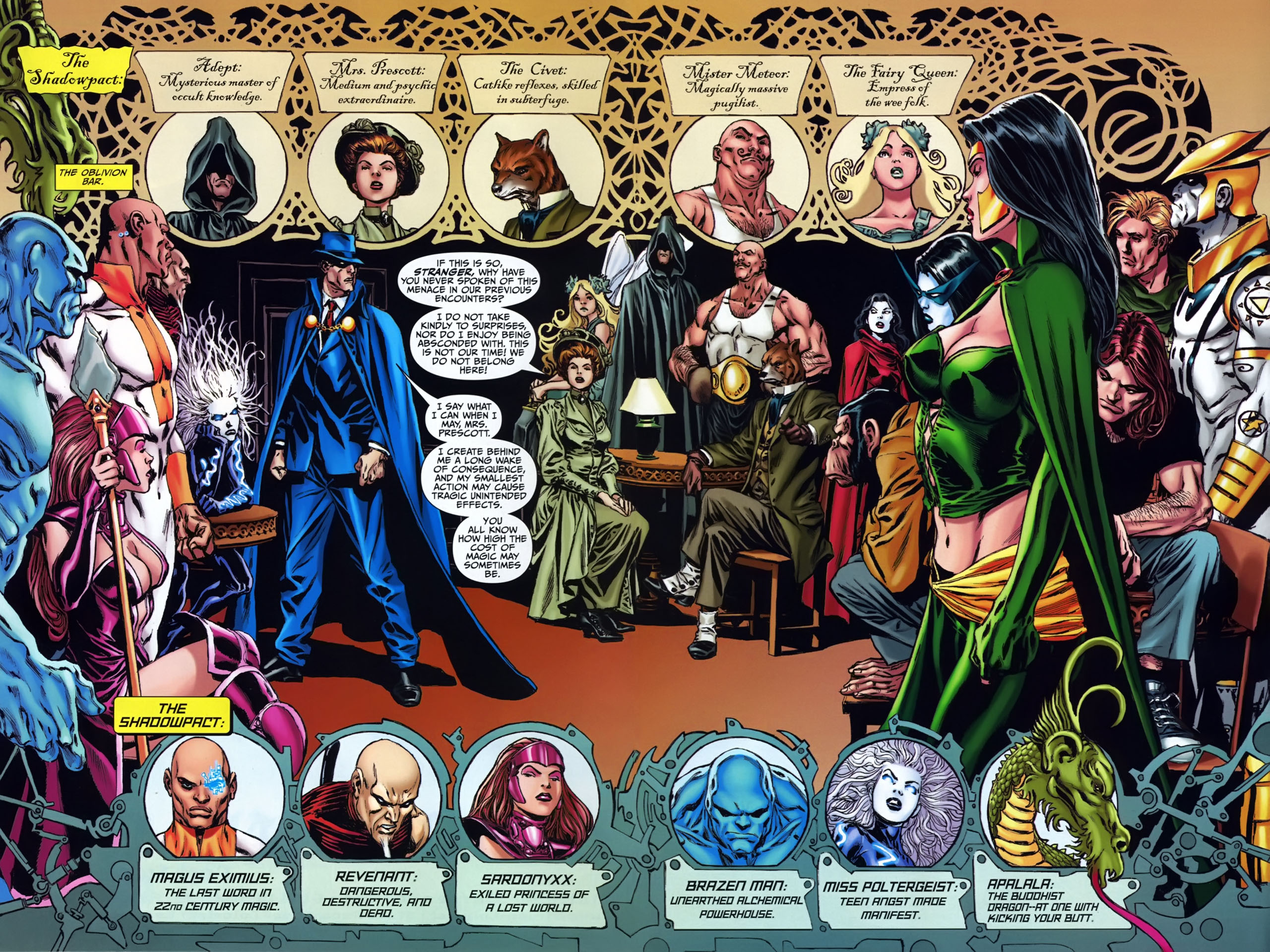 Read online Shadowpact comic -  Issue #24 - 3