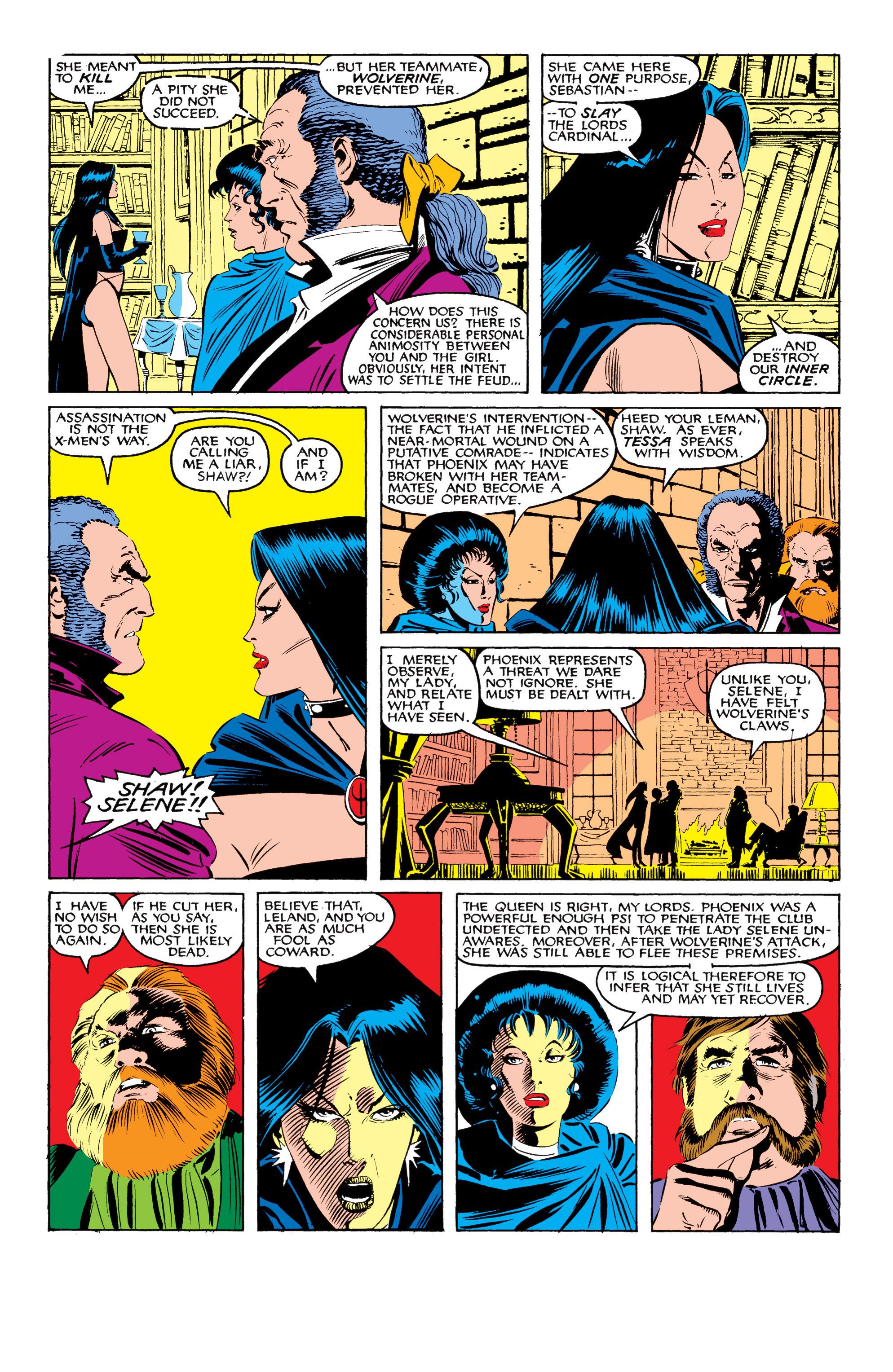 Read online Uncanny X-Men (1963) comic -  Issue #208 - 7