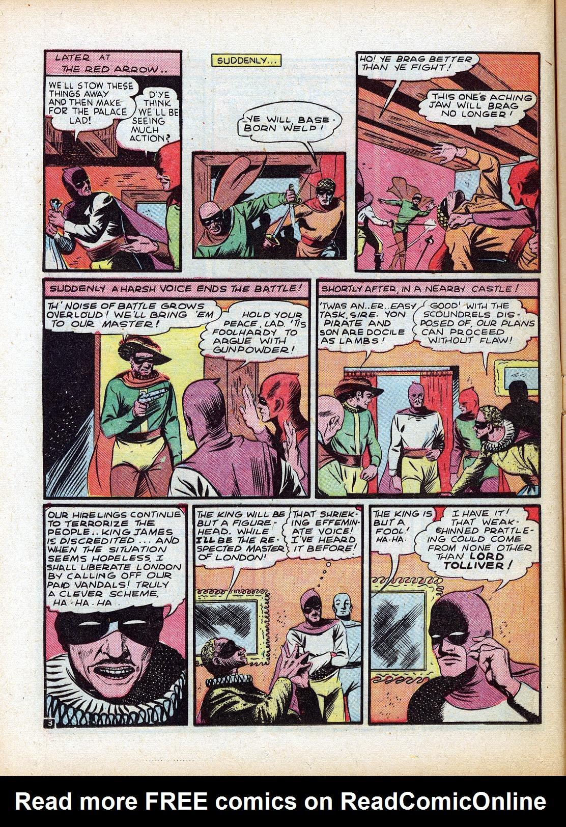 Read online Sensation (Mystery) Comics comic -  Issue #18 - 20