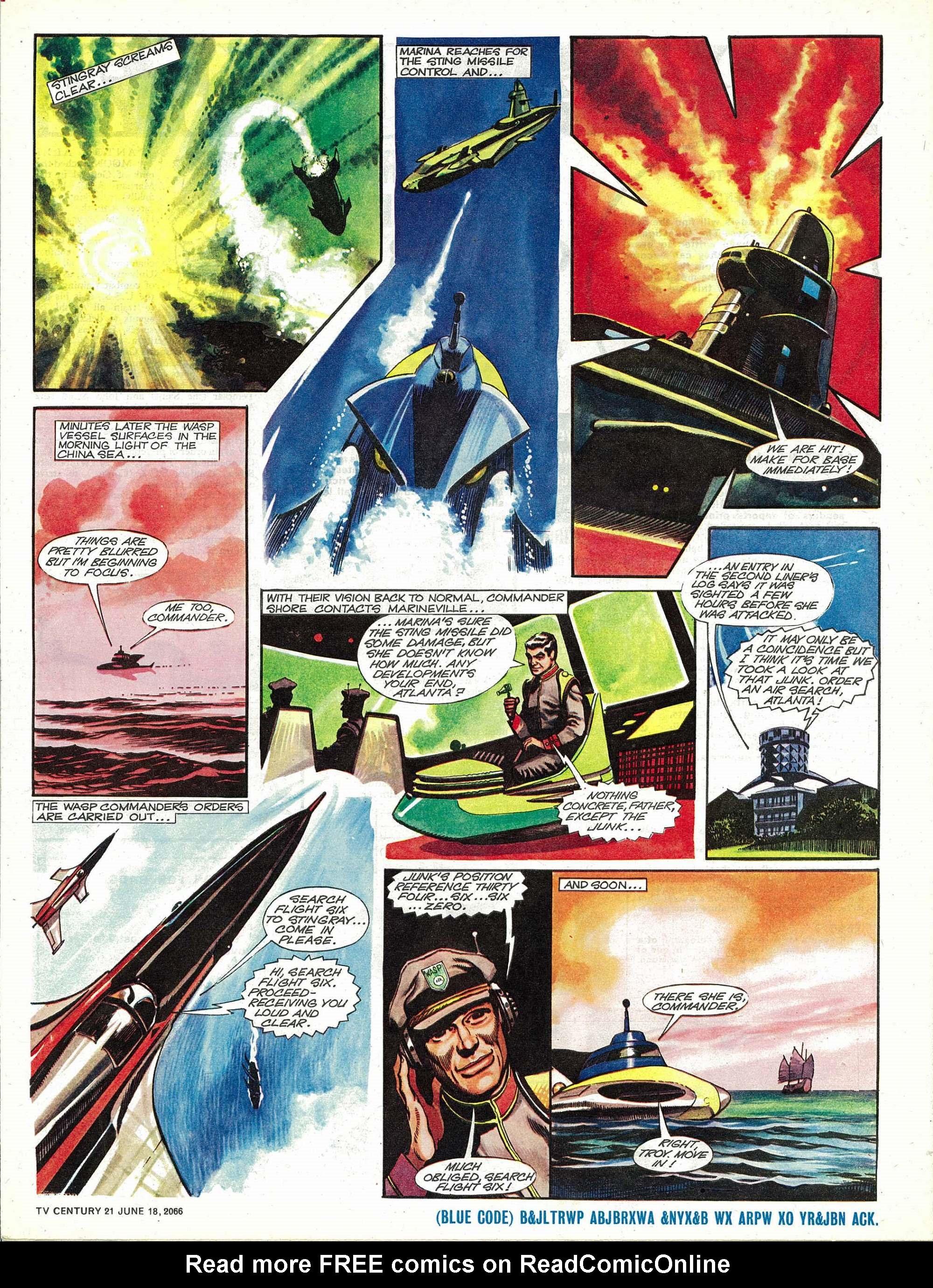 Read online TV Century 21 (TV 21) comic -  Issue #74 - 5