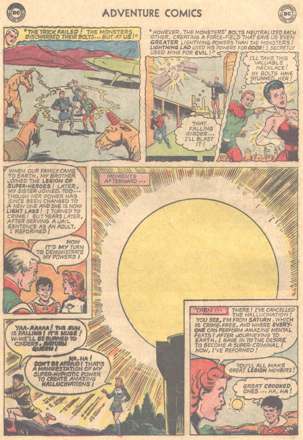 Read online Adventure Comics (1938) comic -  Issue #331 - 7