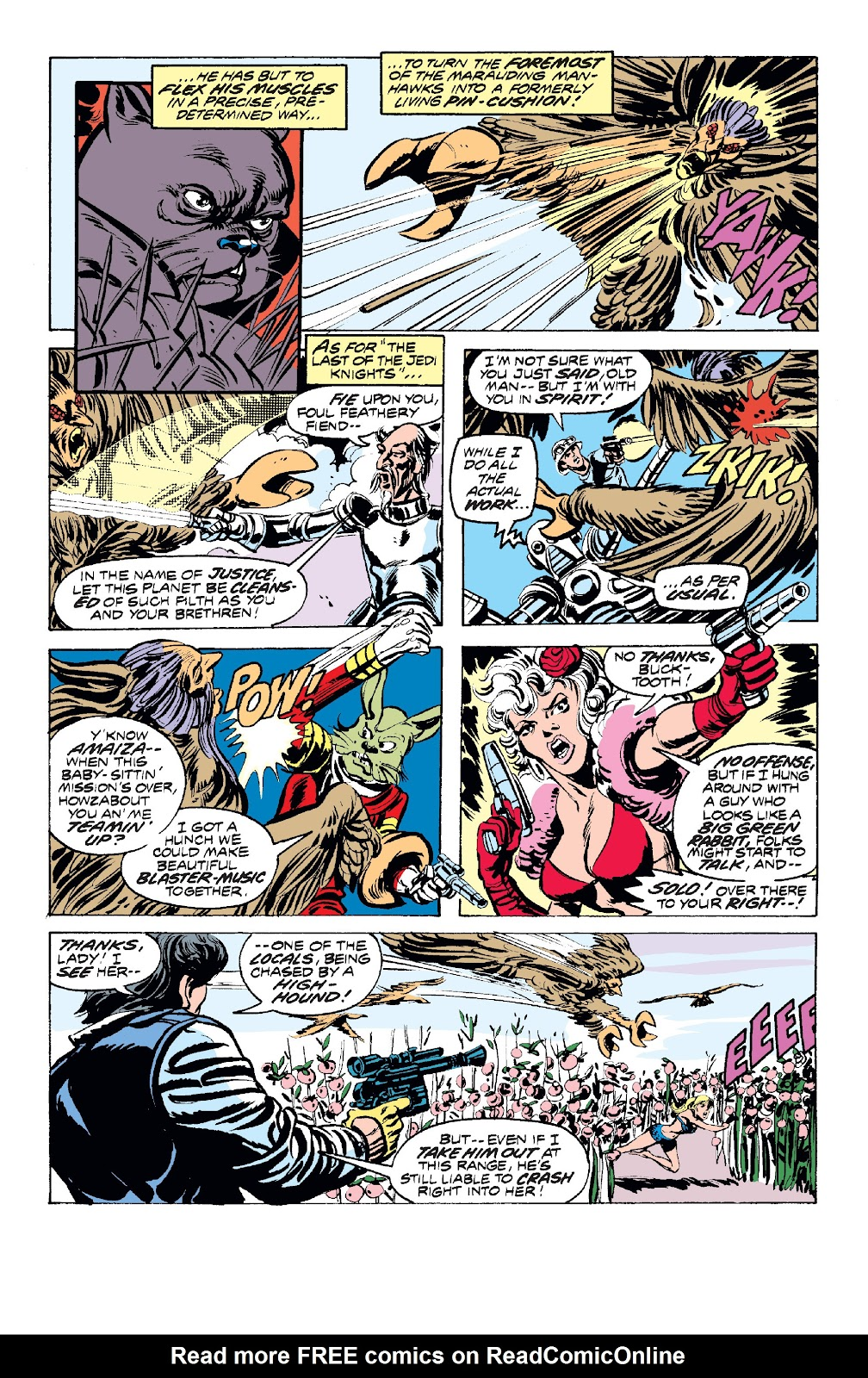 Read online Star Wars Legends: The Original Marvel Years - Epic Collection comic -  Issue # TPB 1 (Part 2) - 58