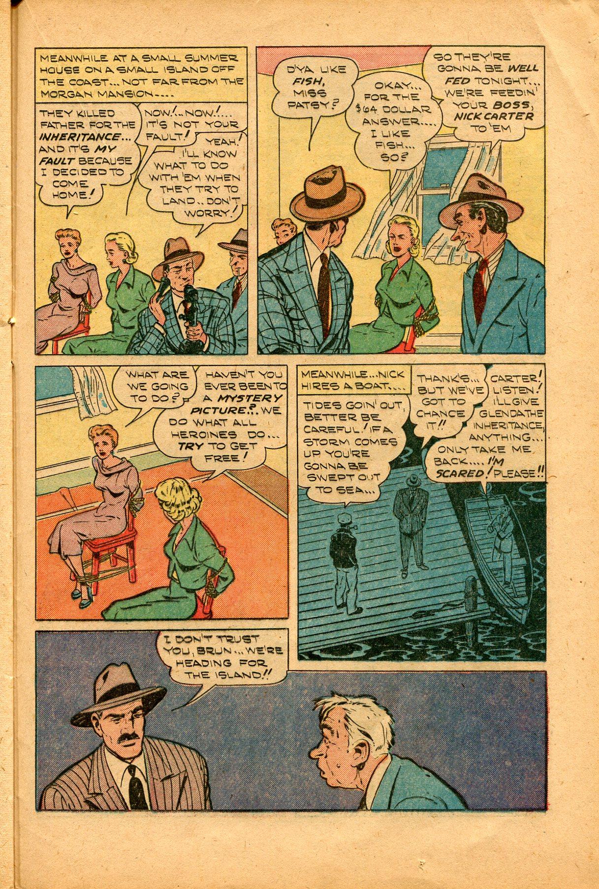 Read online Shadow Comics comic -  Issue #94 - 33