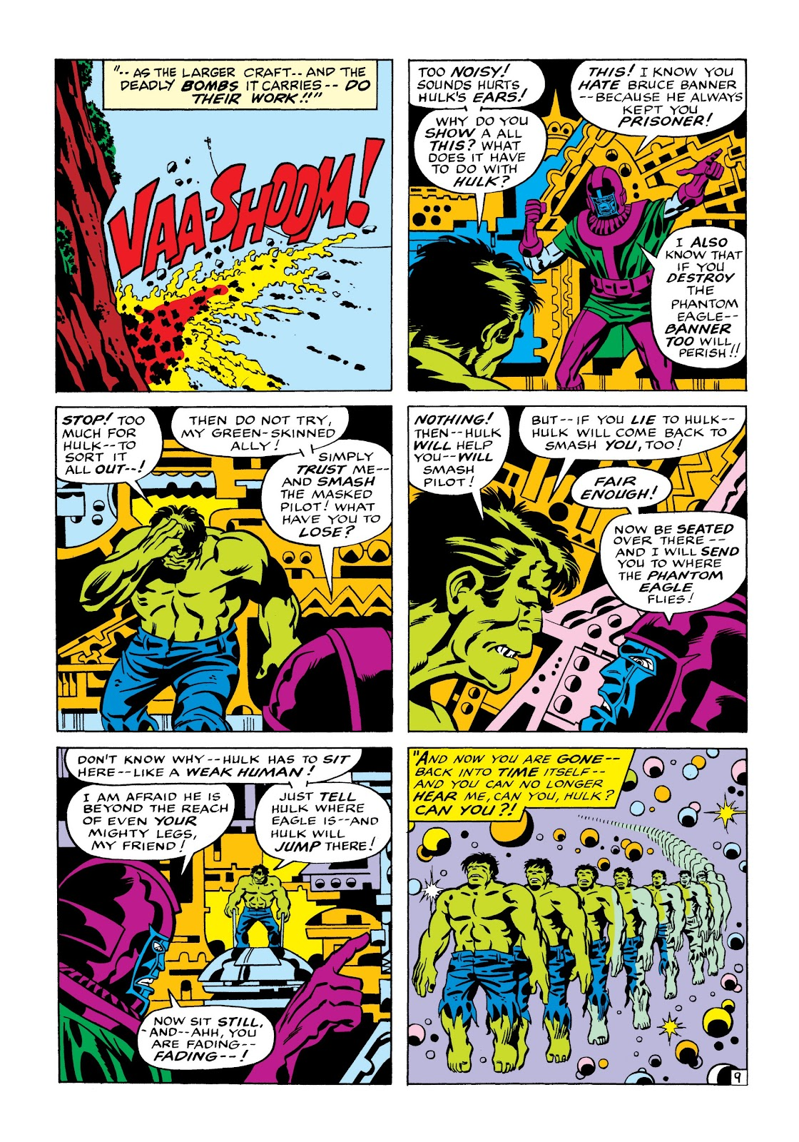Read online Marvel Masterworks: The Incredible Hulk comic -  Issue # TPB 7 (Part 1) - 16