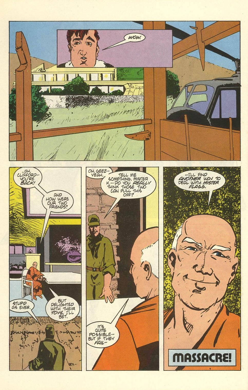 Read online American Flagg! comic -  Issue #41 - 32