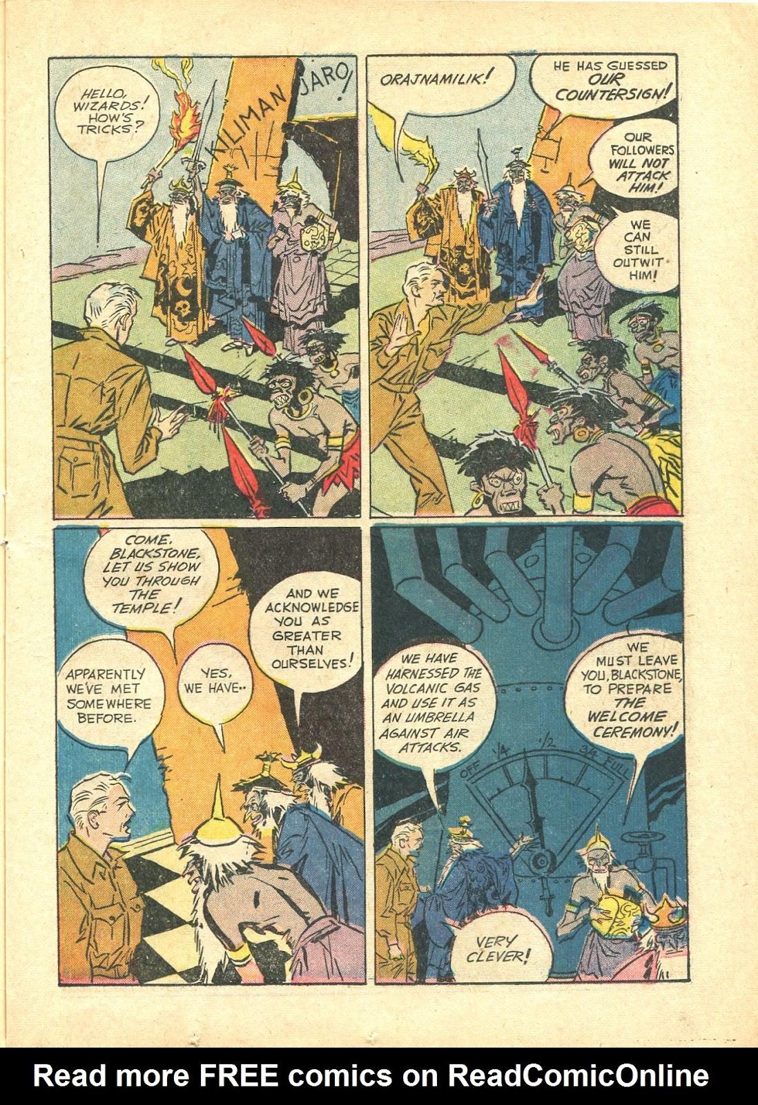 Read online Super-Magician Comics comic -  Issue #21 - 21