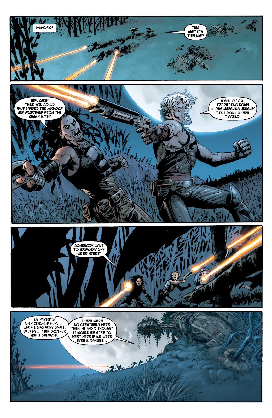 Read online Star Wars Legends: Legacy - Epic Collection comic -  Issue # TPB 1 (Part 1) - 83