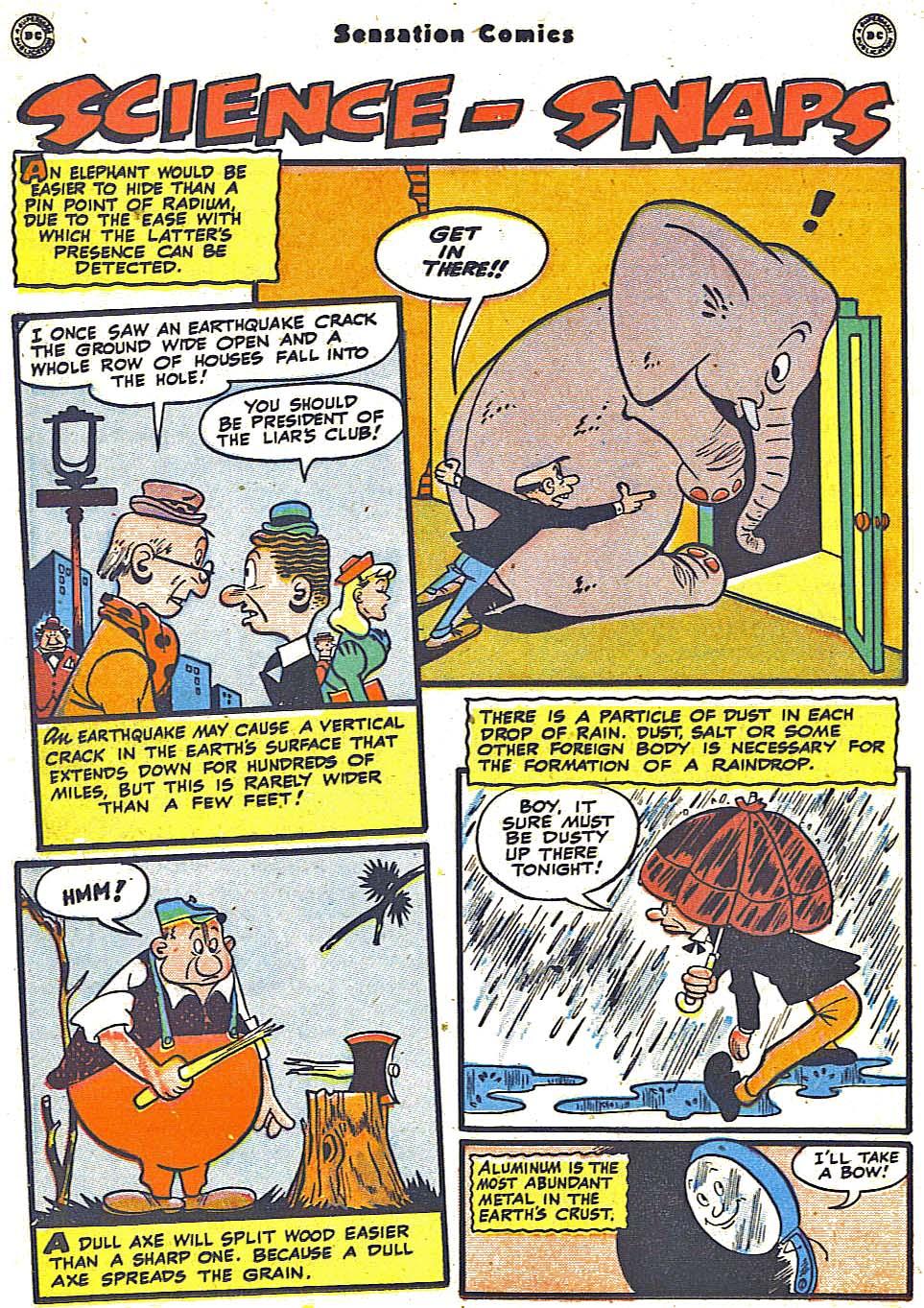 Read online Sensation (Mystery) Comics comic -  Issue #79 - 38
