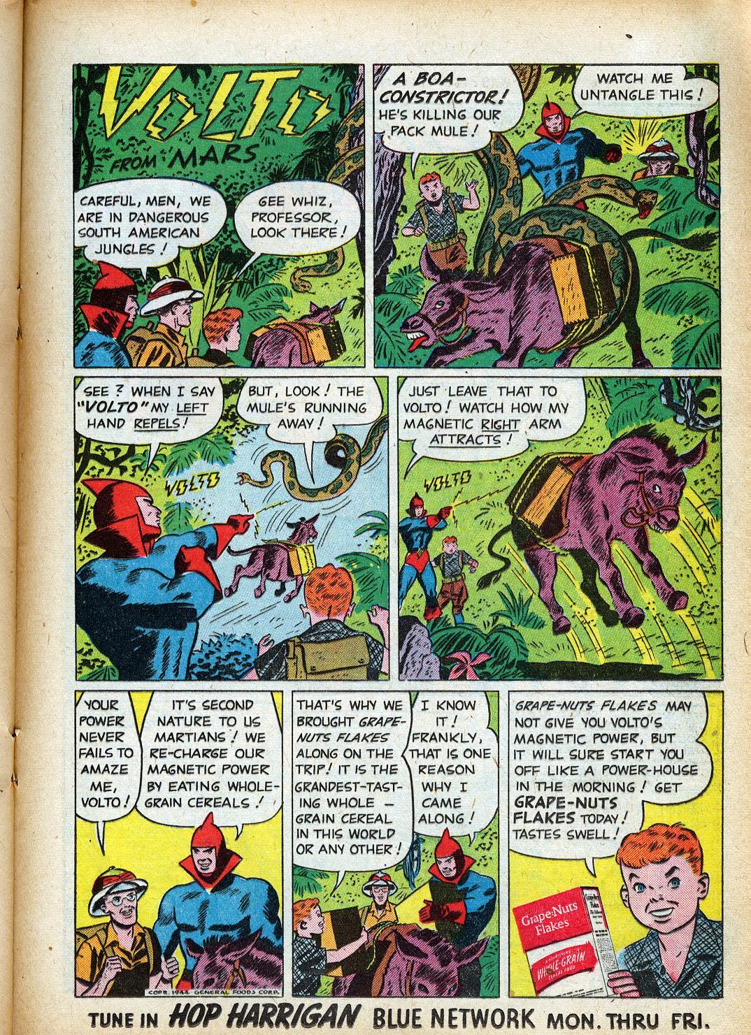 Read online Sensation (Mystery) Comics comic -  Issue #40 - 31