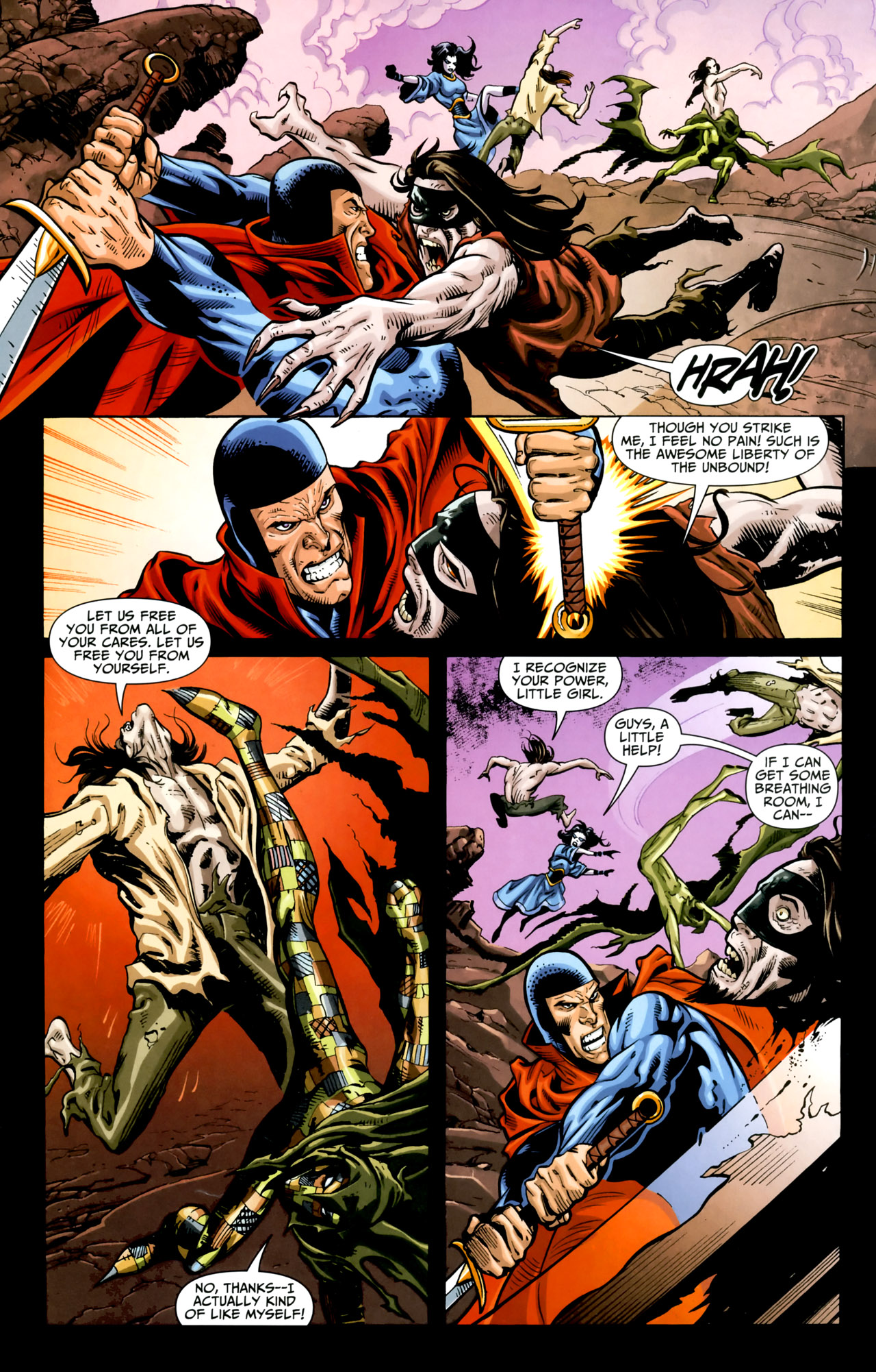 Read online Shadowpact comic -  Issue #18 - 10