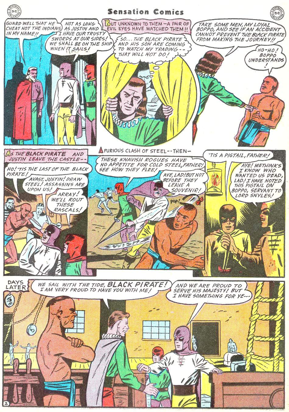Read online Sensation (Mystery) Comics comic -  Issue #50 - 33