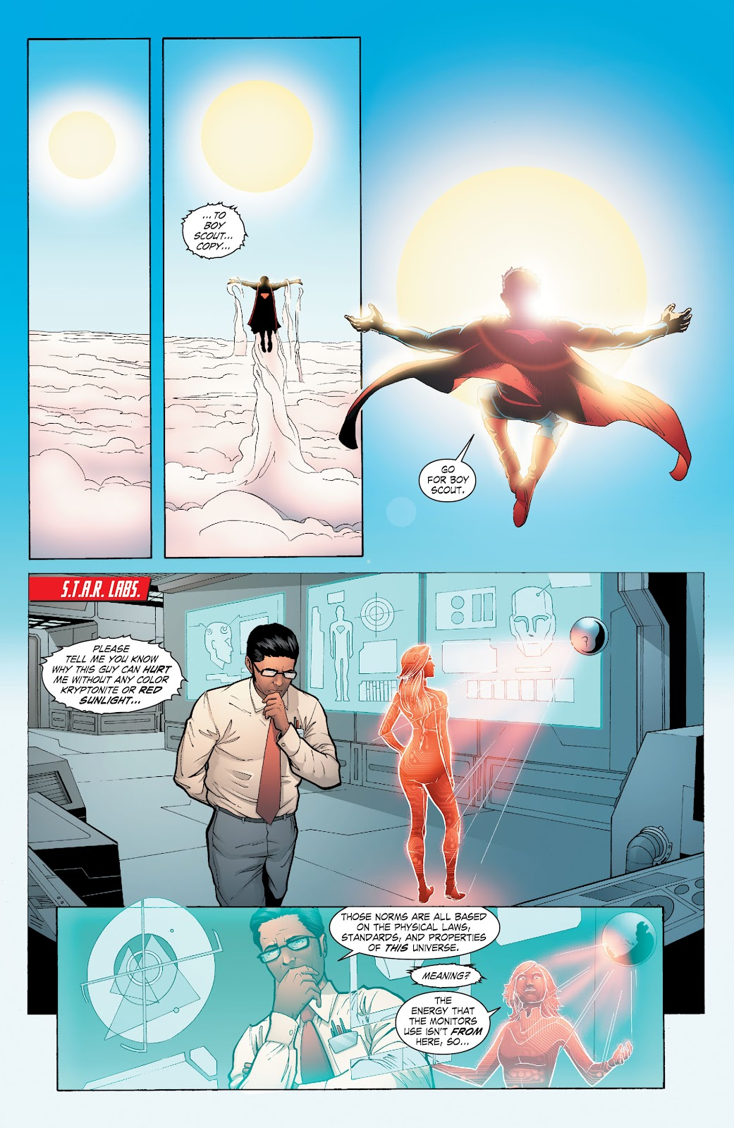 Read online Smallville Season 11 [II] comic -  Issue # TPB 6 - 152