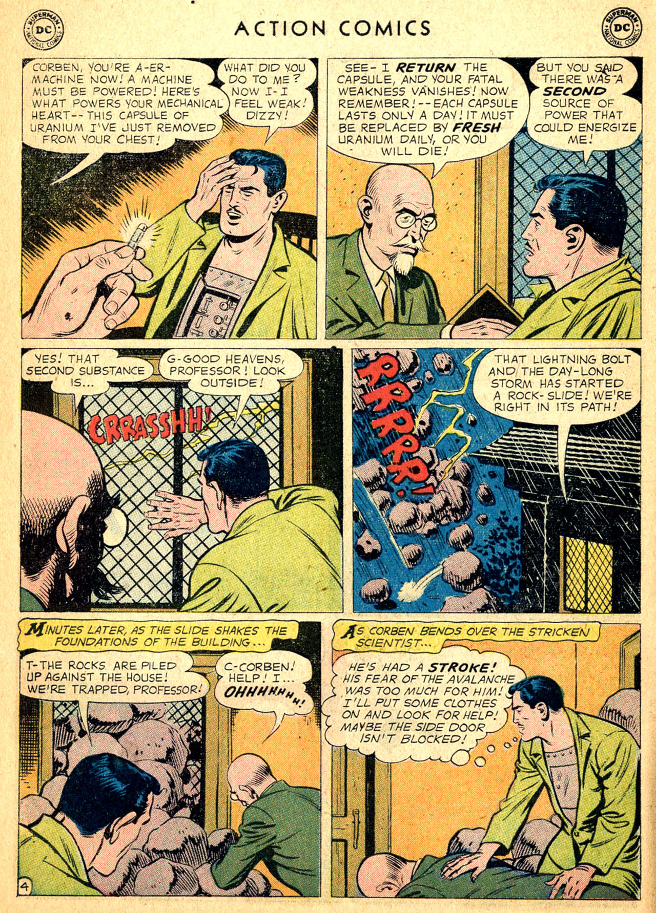 Read online Action Comics (1938) comic -  Issue #252 - 6