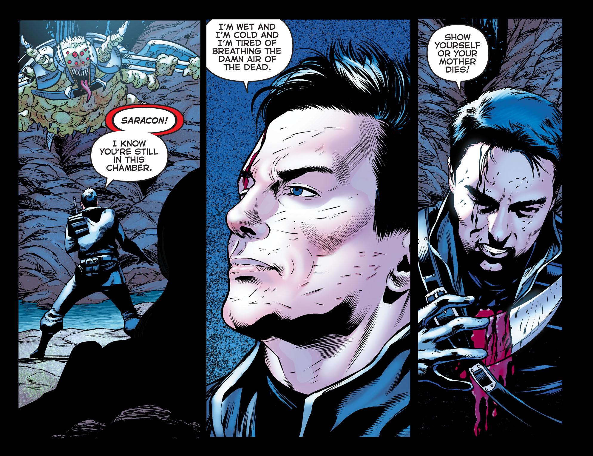 Read online Arrow: The Dark Archer comic -  Issue #10 - 16