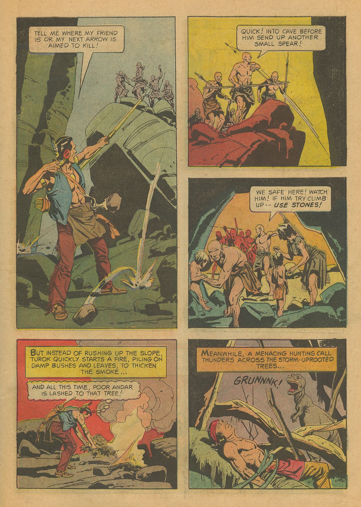 Read online Turok, Son of Stone comic -  Issue #37 - 31