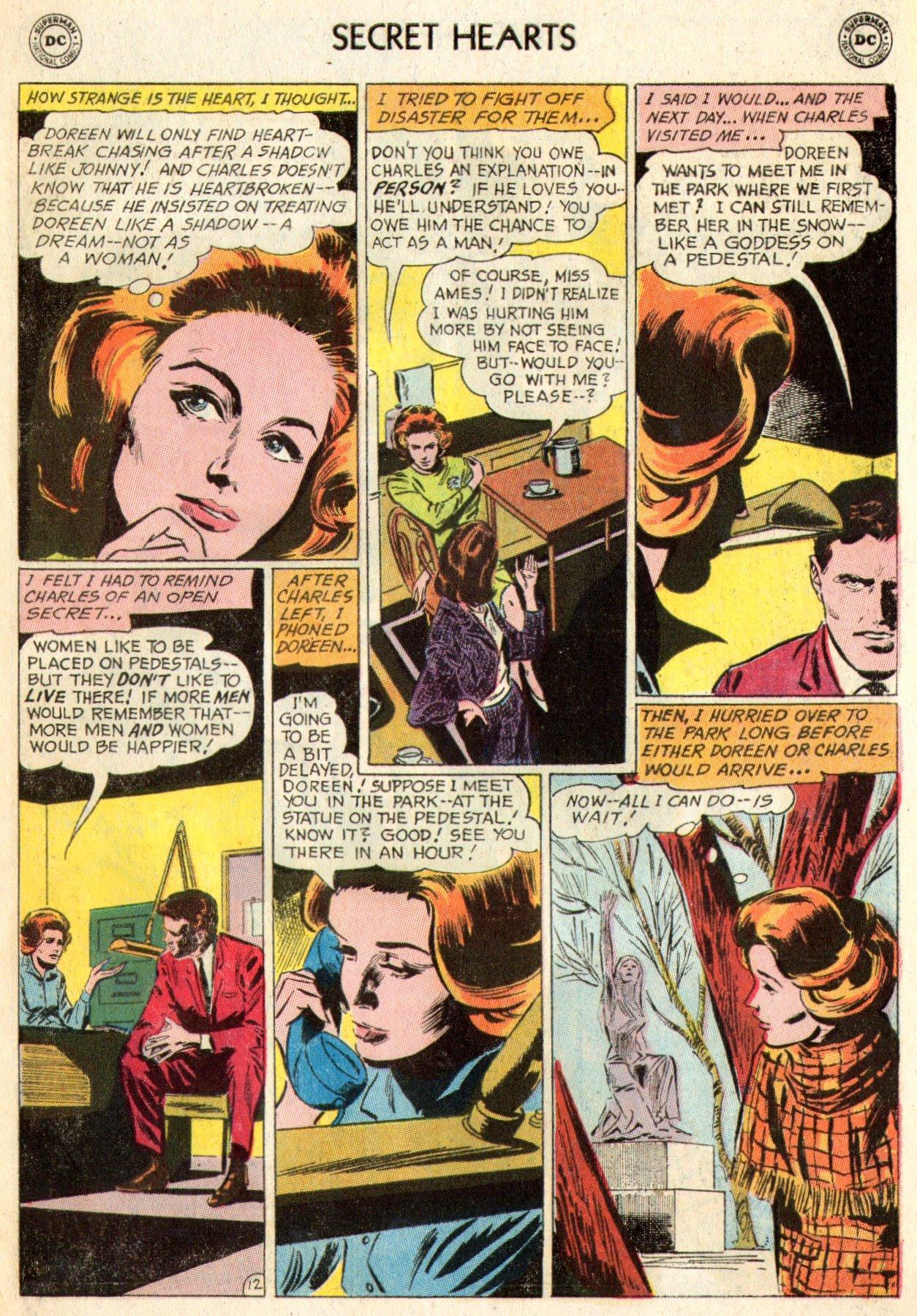 Read online Secret Hearts comic -  Issue #103 - 30