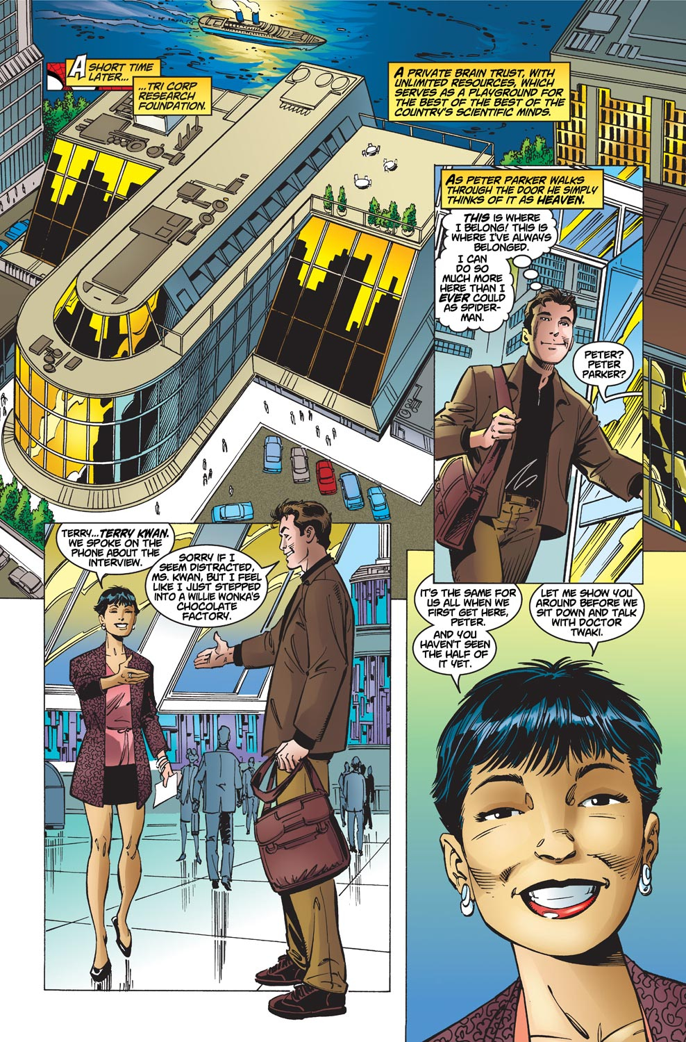 The Amazing Spider-Man (1999) 1 Page 20