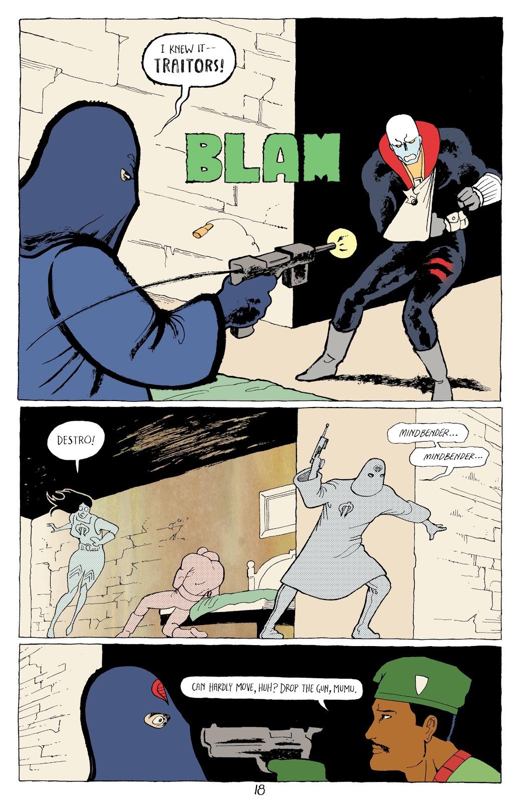 Read online G.I. Joe: Sierra Muerte comic -  Issue #3 - 20