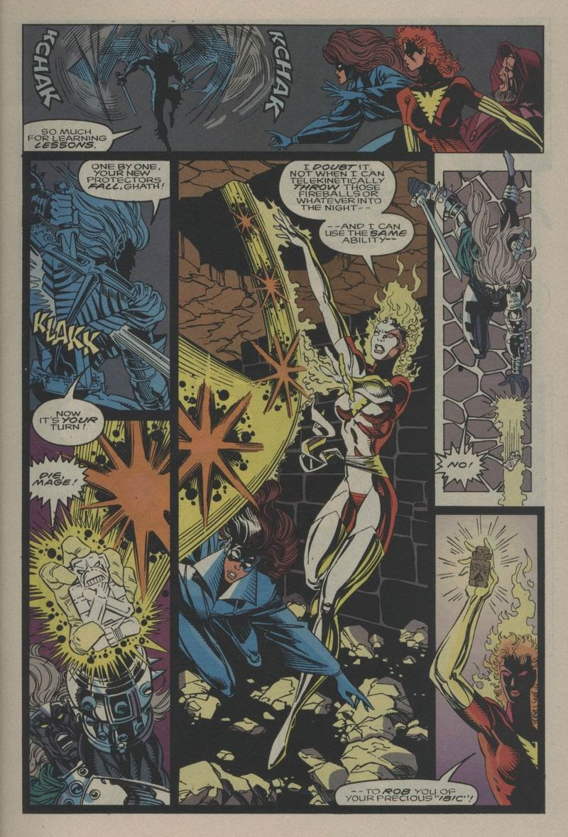 Excalibur (1988) issue Annual 1 - Page 12