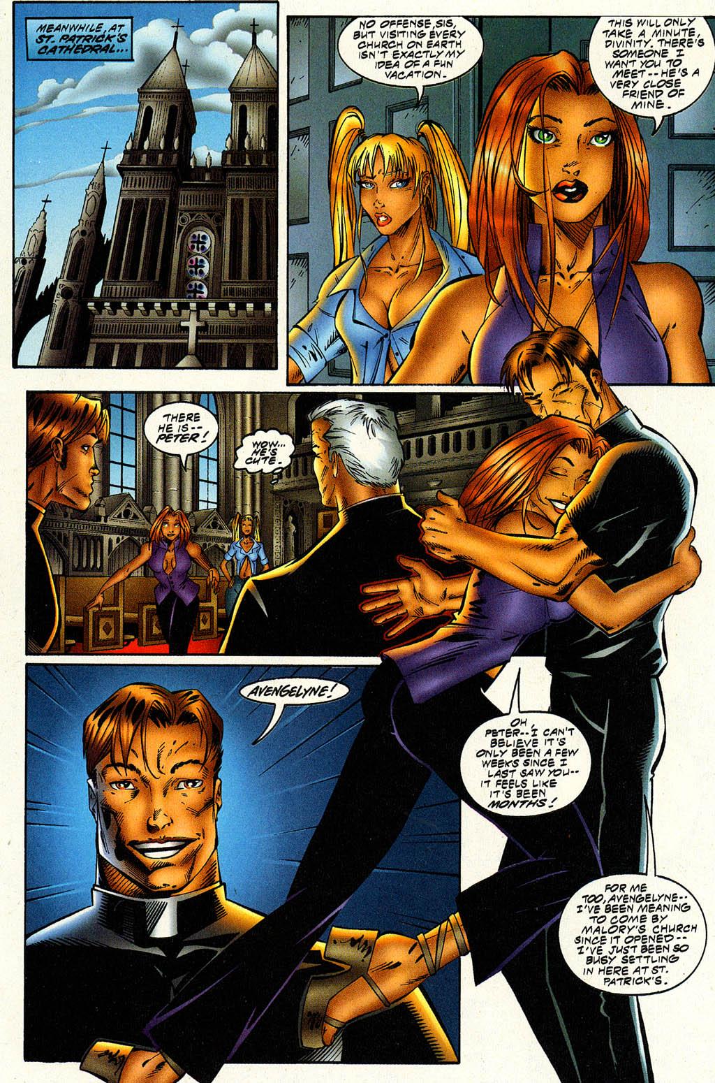 Read online Avengelyne (1996) comic -  Issue #6 - 12