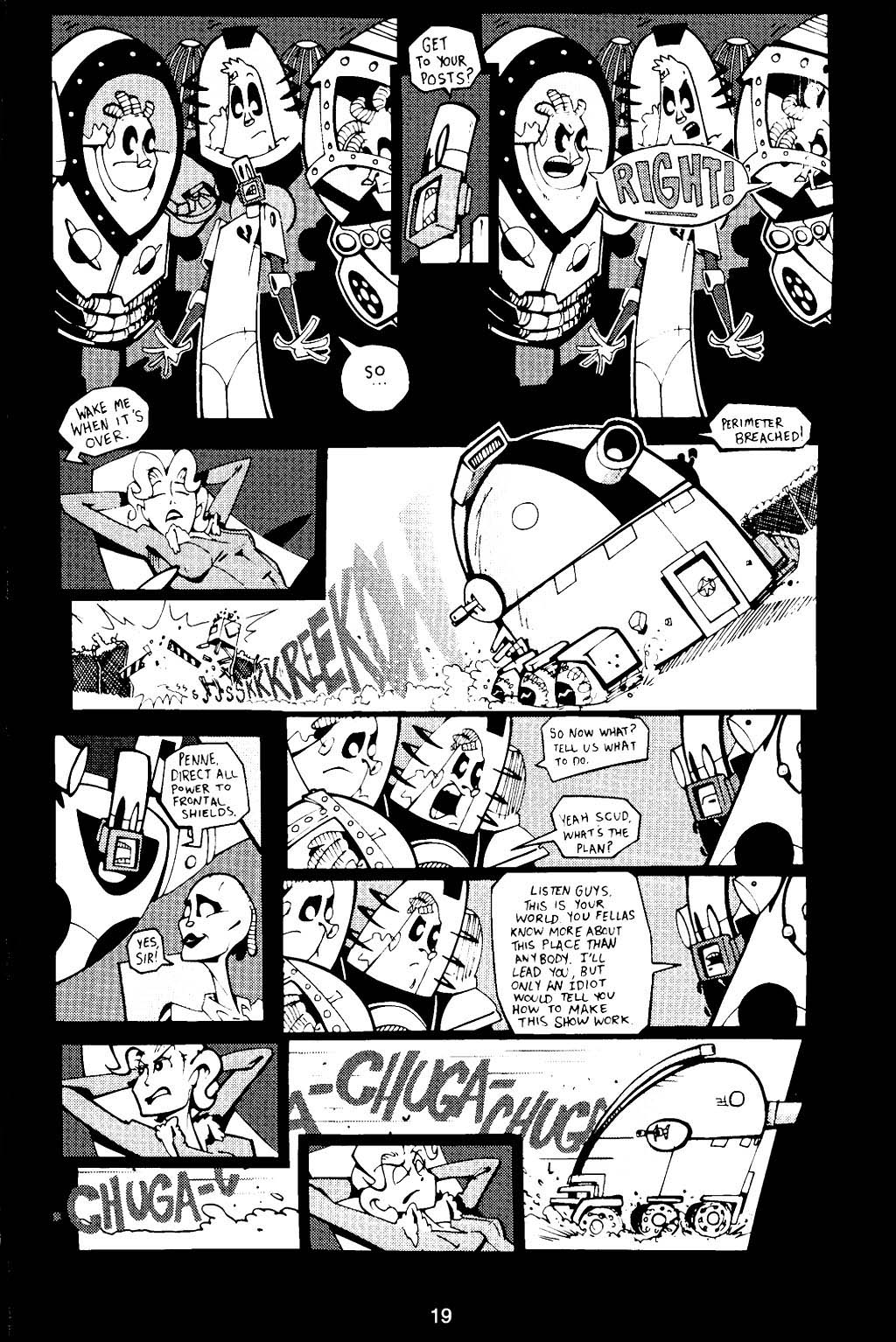 Read online Scud: The Disposable Assassin (1994) comic -  Issue #16 - 21