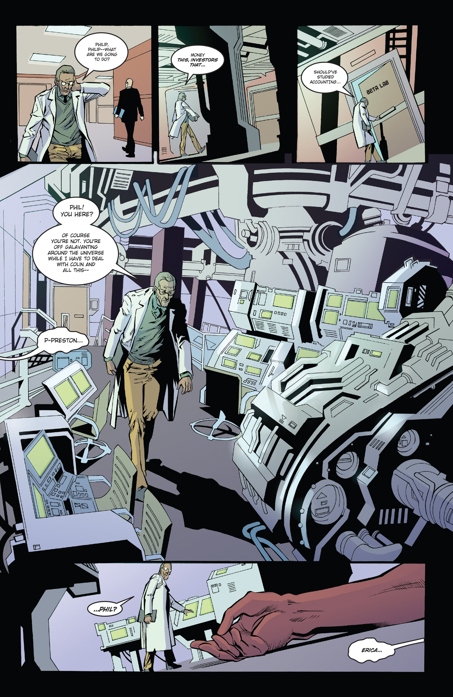 Read online Solar: Man of the Atom (2014) comic -  Issue #1 - 16