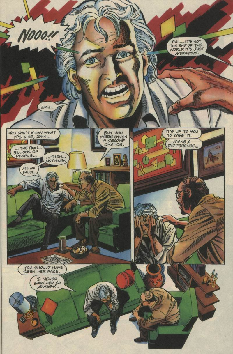 Read online Solar, Man of the Atom comic -  Issue #21 - 6
