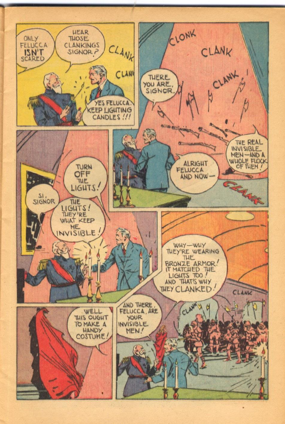 Read online Super-Magician Comics comic -  Issue #38 - 13