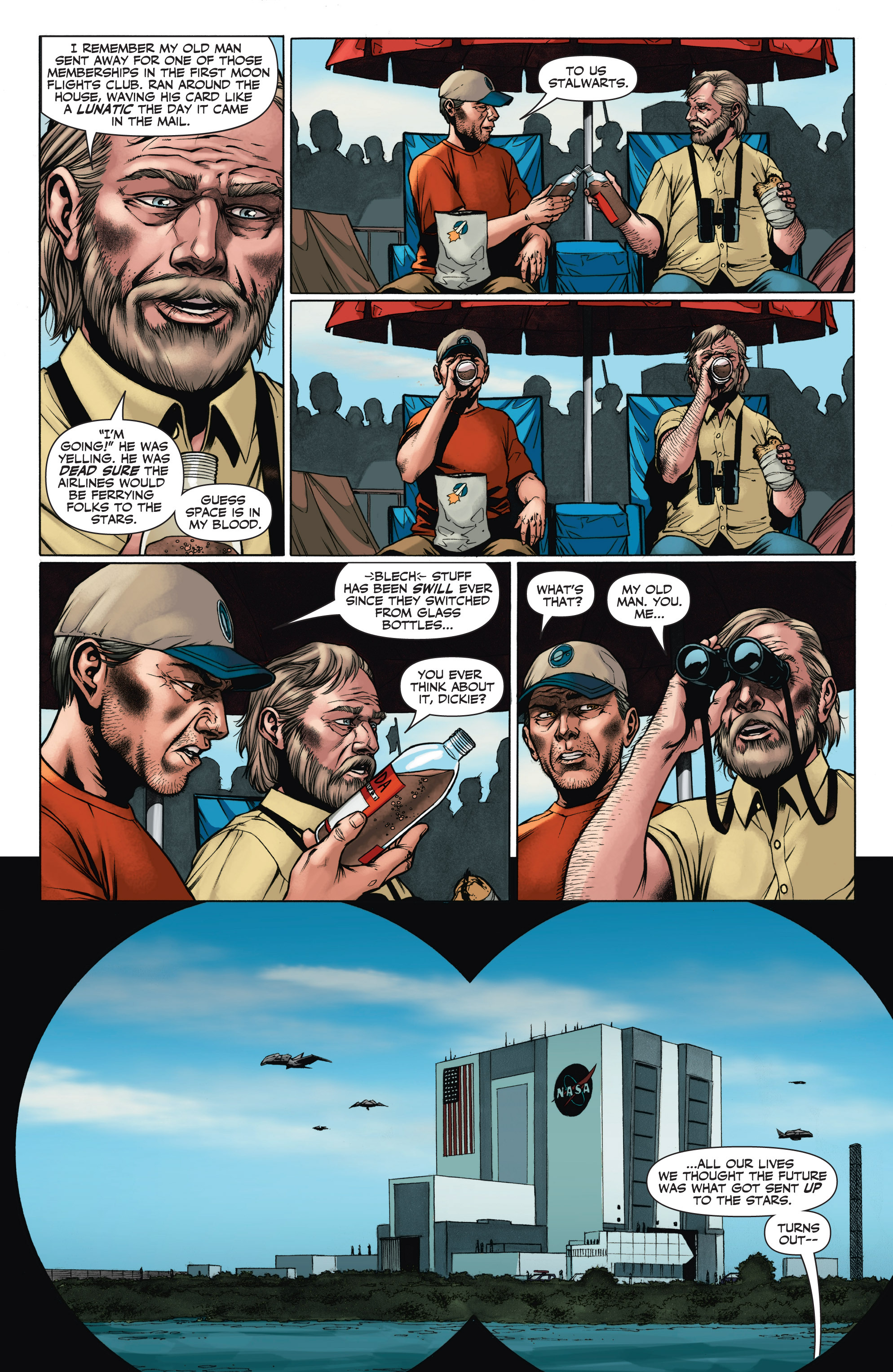 Read online Armor Hunters: Aftermath comic -  Issue # Full - 5