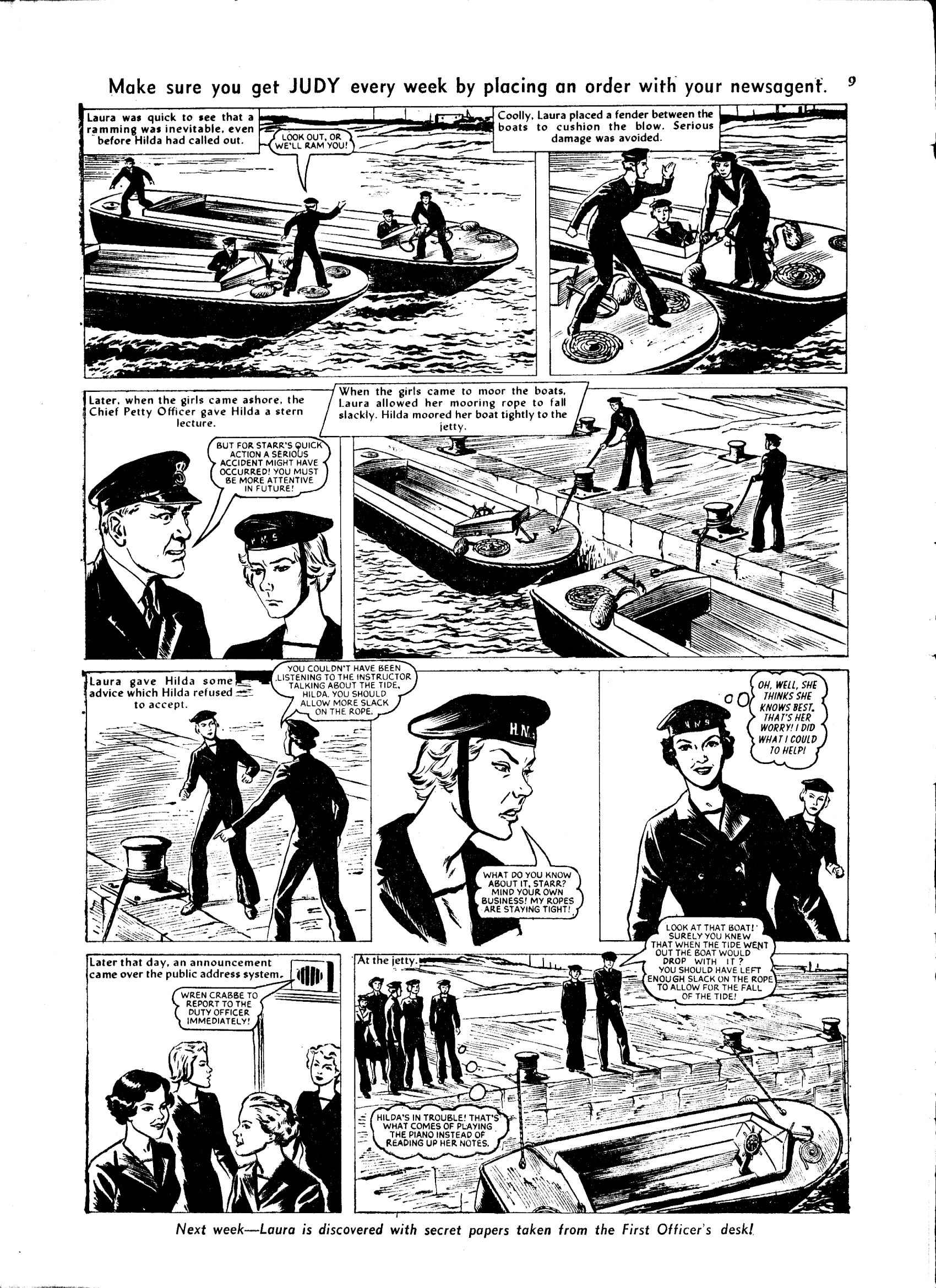 Read online Judy comic -  Issue #48 - 9