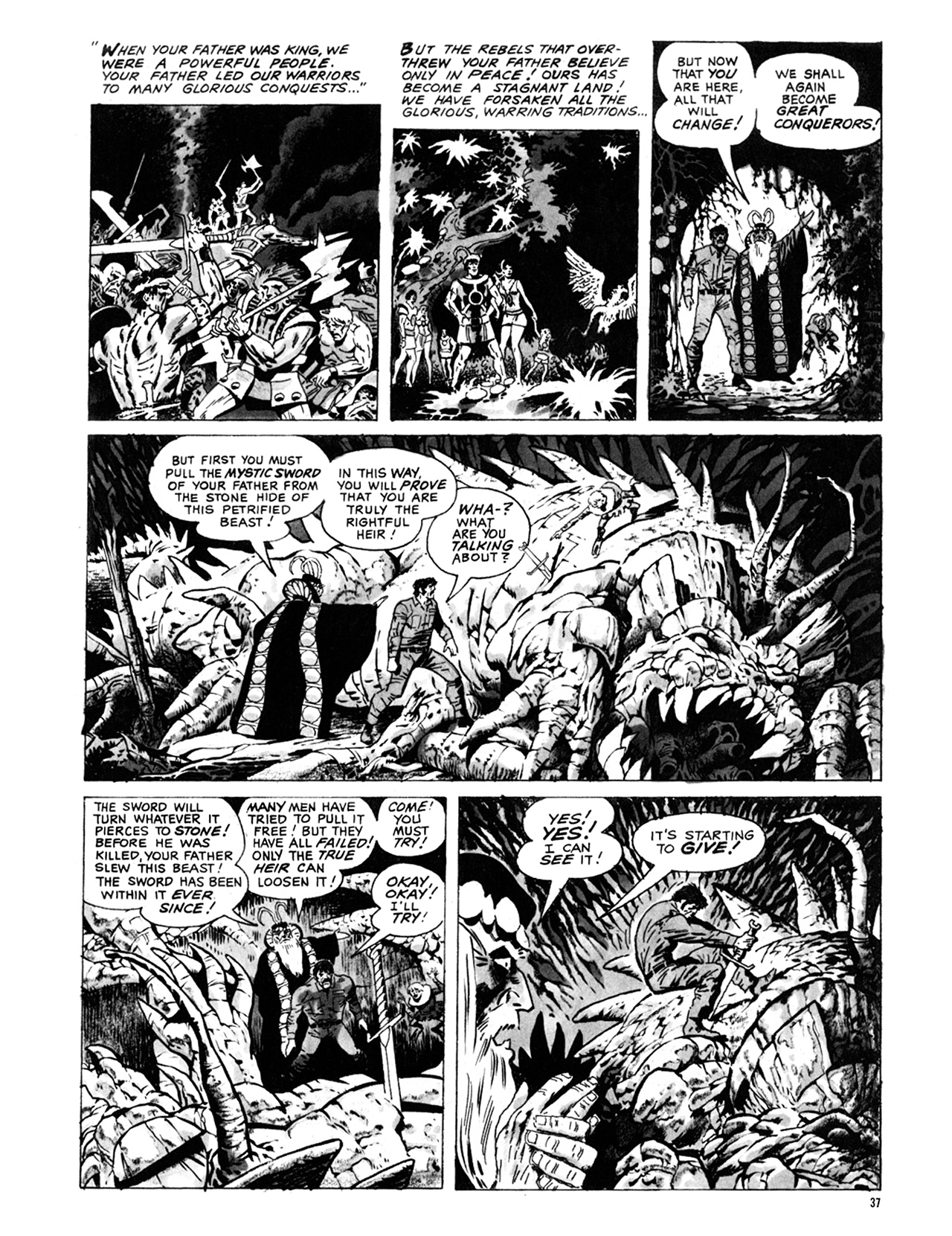 Read online Eerie Archives comic -  Issue # TPB 9 - 38