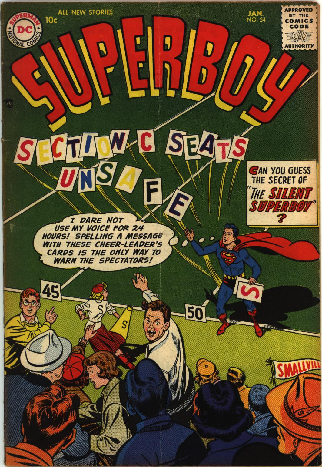 Superboy (1949) issue 54 - Page 1