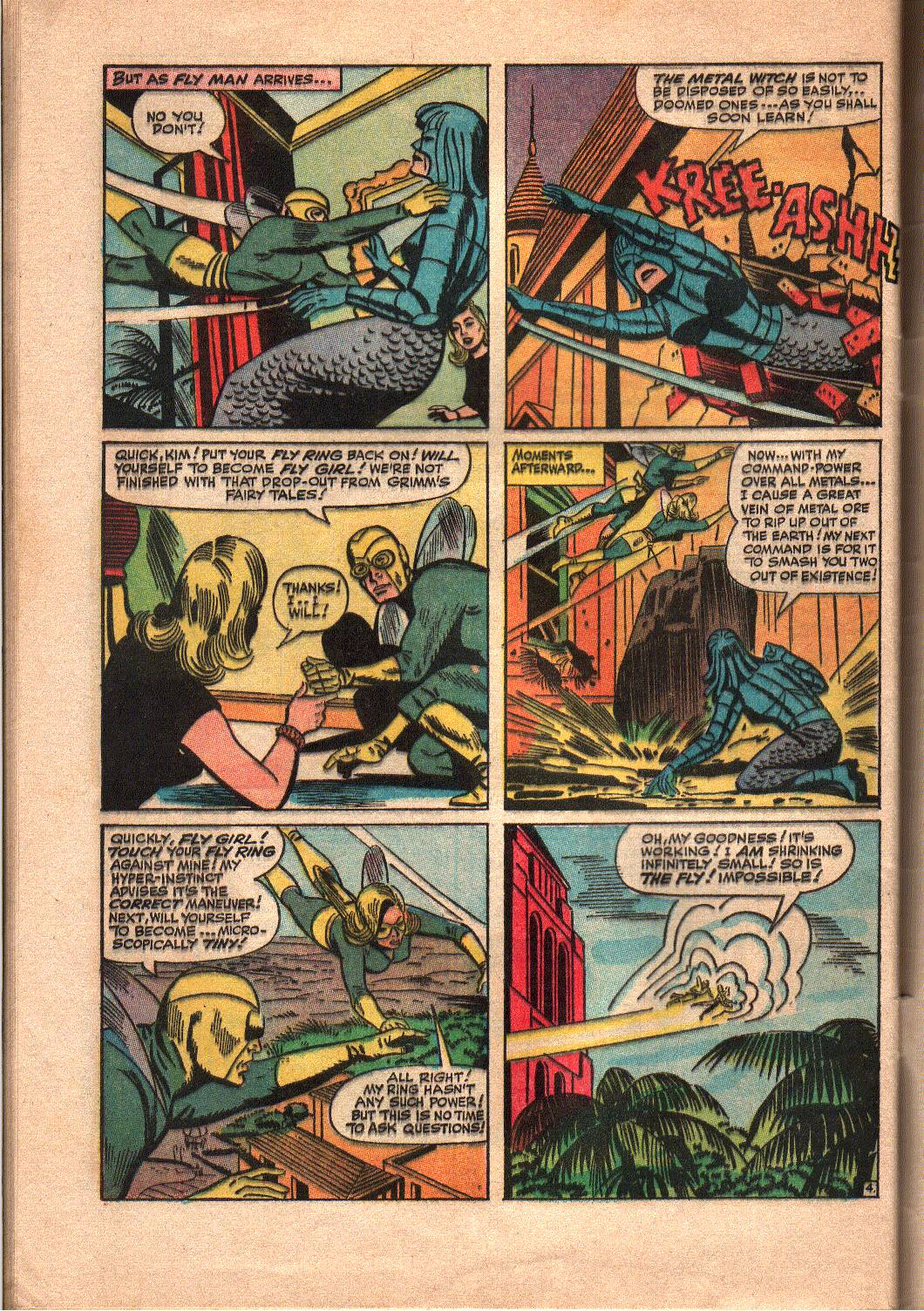 The Mighty Crusaders (1965) Issue #7 #7 - English 25