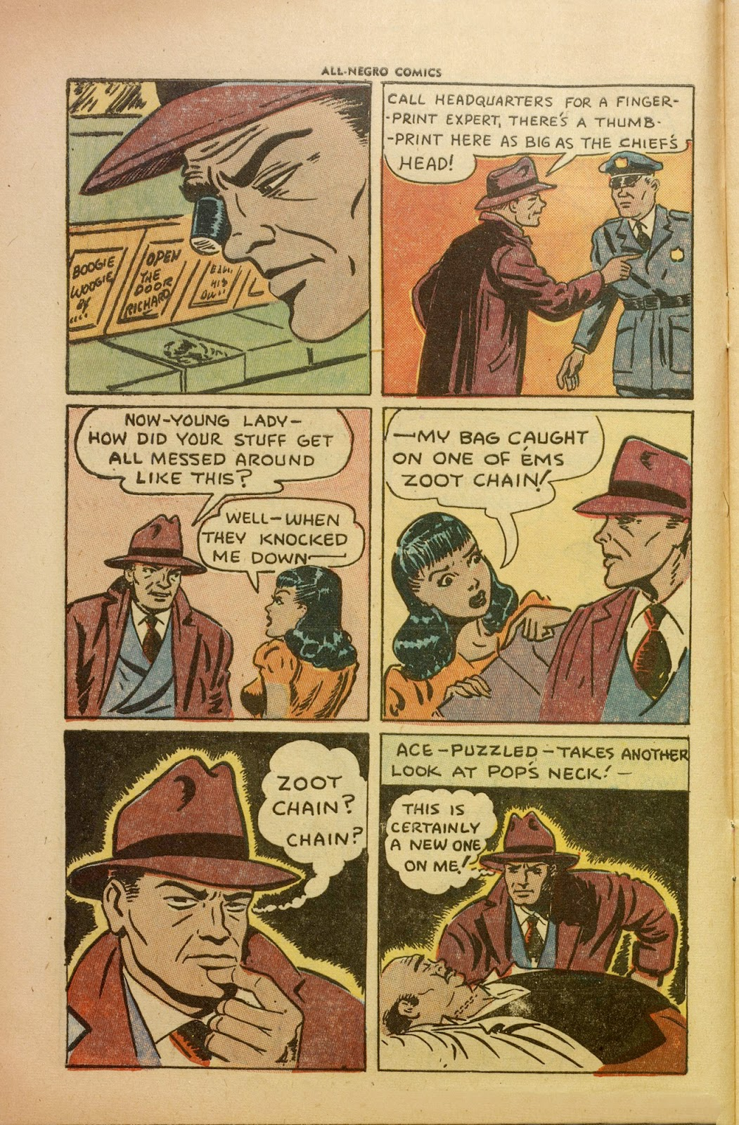 All-Negro Comics issue Full - Page 8
