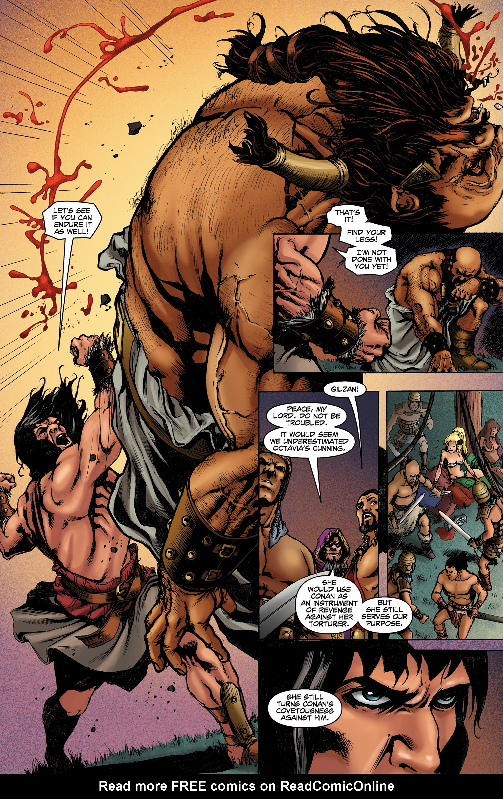Read online Conan The Slayer comic -  Issue #8 - 13