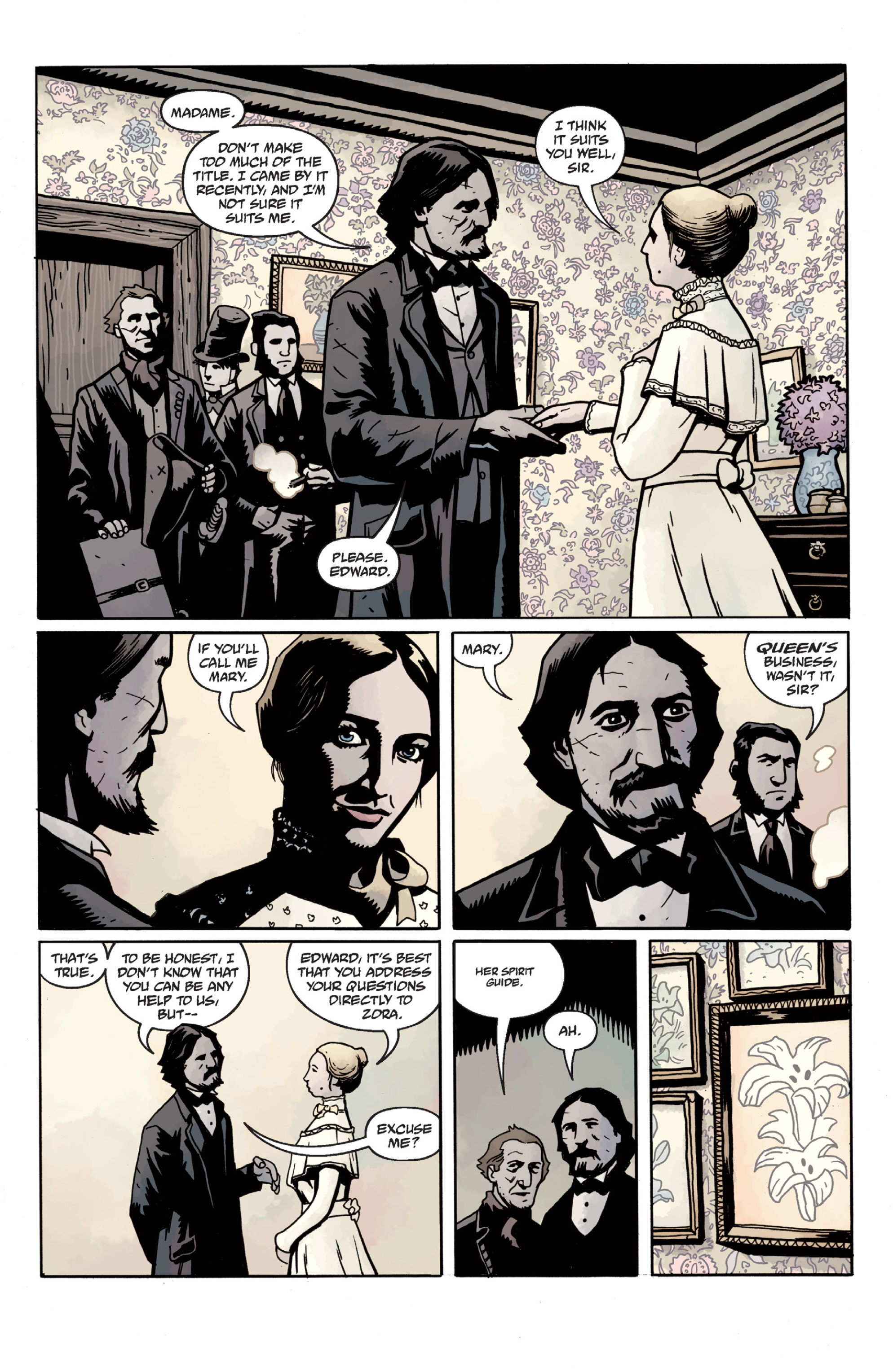 Read online Sir Edward Grey, Witchfinder: In the Service of Angels comic -  Issue # TPB - 42