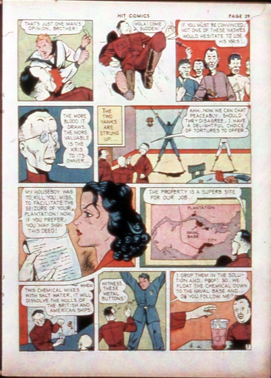 Read online Hit Comics comic -  Issue #14 - 31