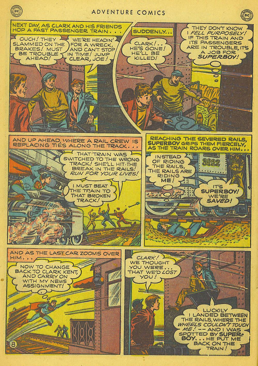 Read online Adventure Comics (1938) comic -  Issue #153 - 9