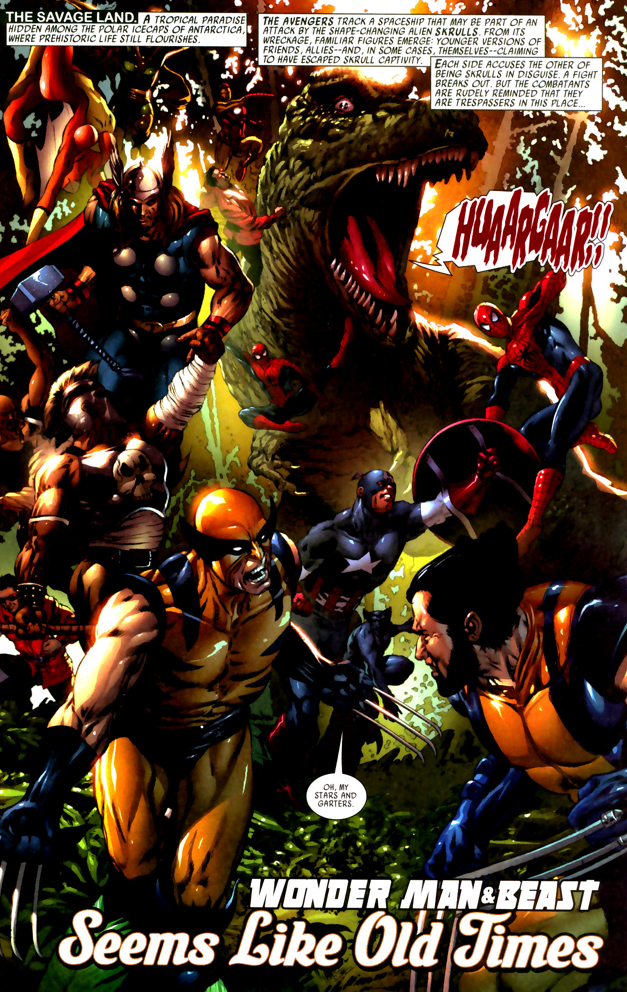 Read online Secret Invasion: Who Do You Trust? comic -  Issue # Full - 21