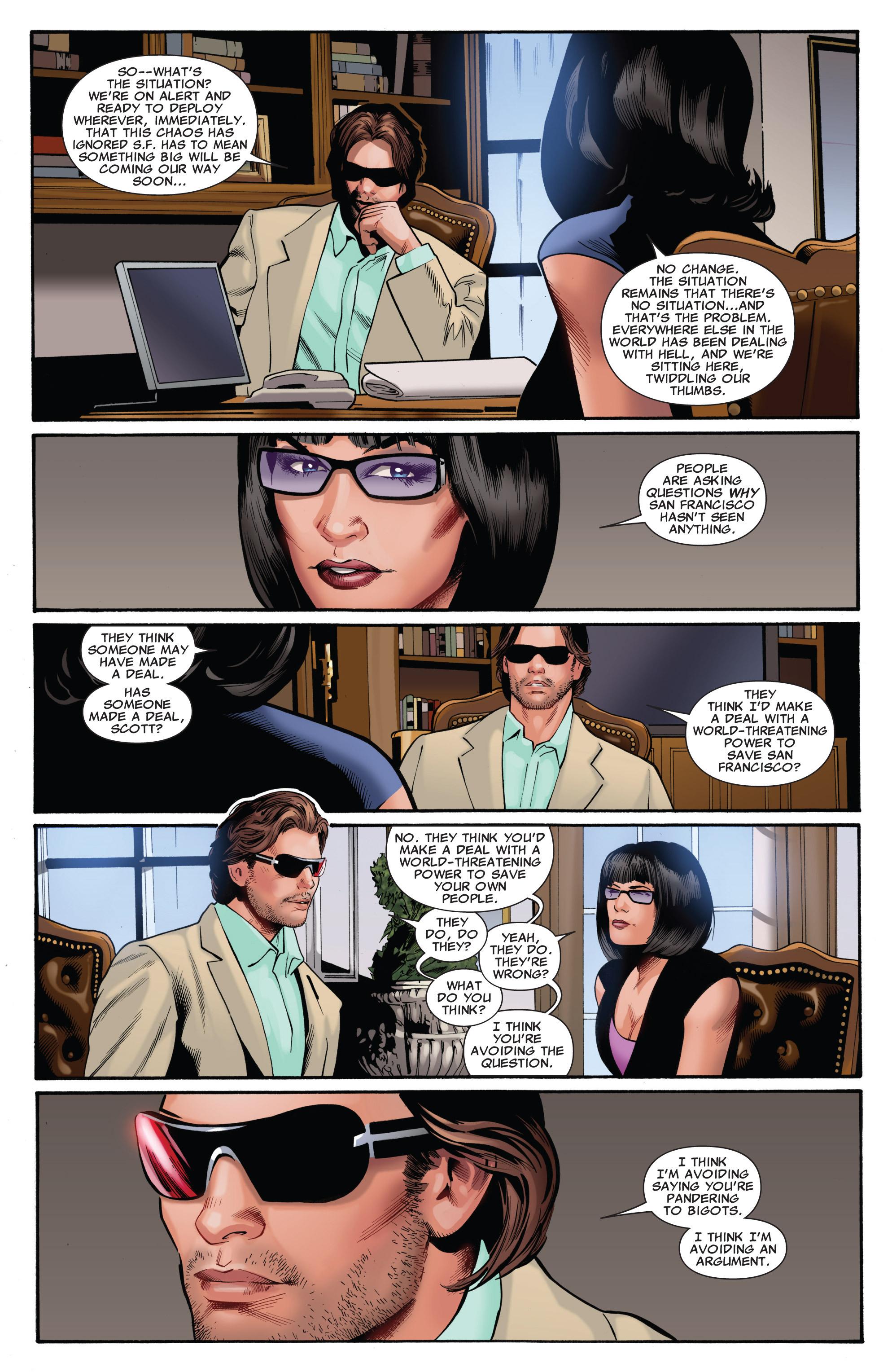 Read online Uncanny X-Men (1963) comic -  Issue #540 - 11