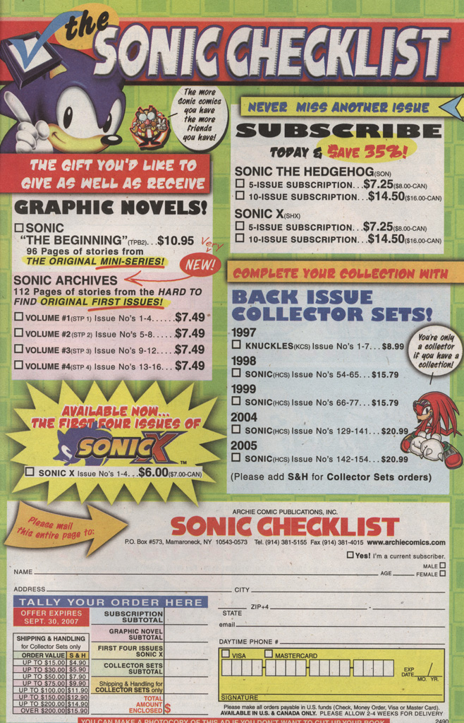 Read online Sonic X comic -  Issue #22 - 31
