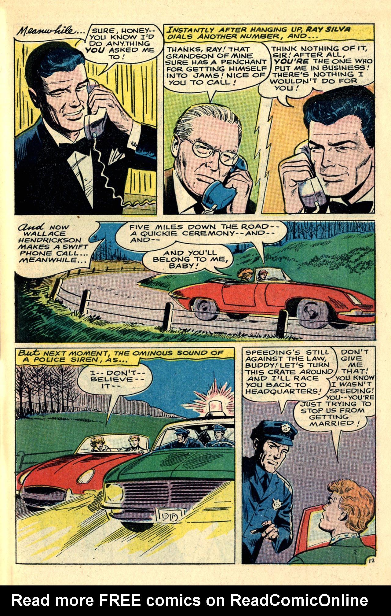 Read online Secret Hearts comic -  Issue #121 - 31