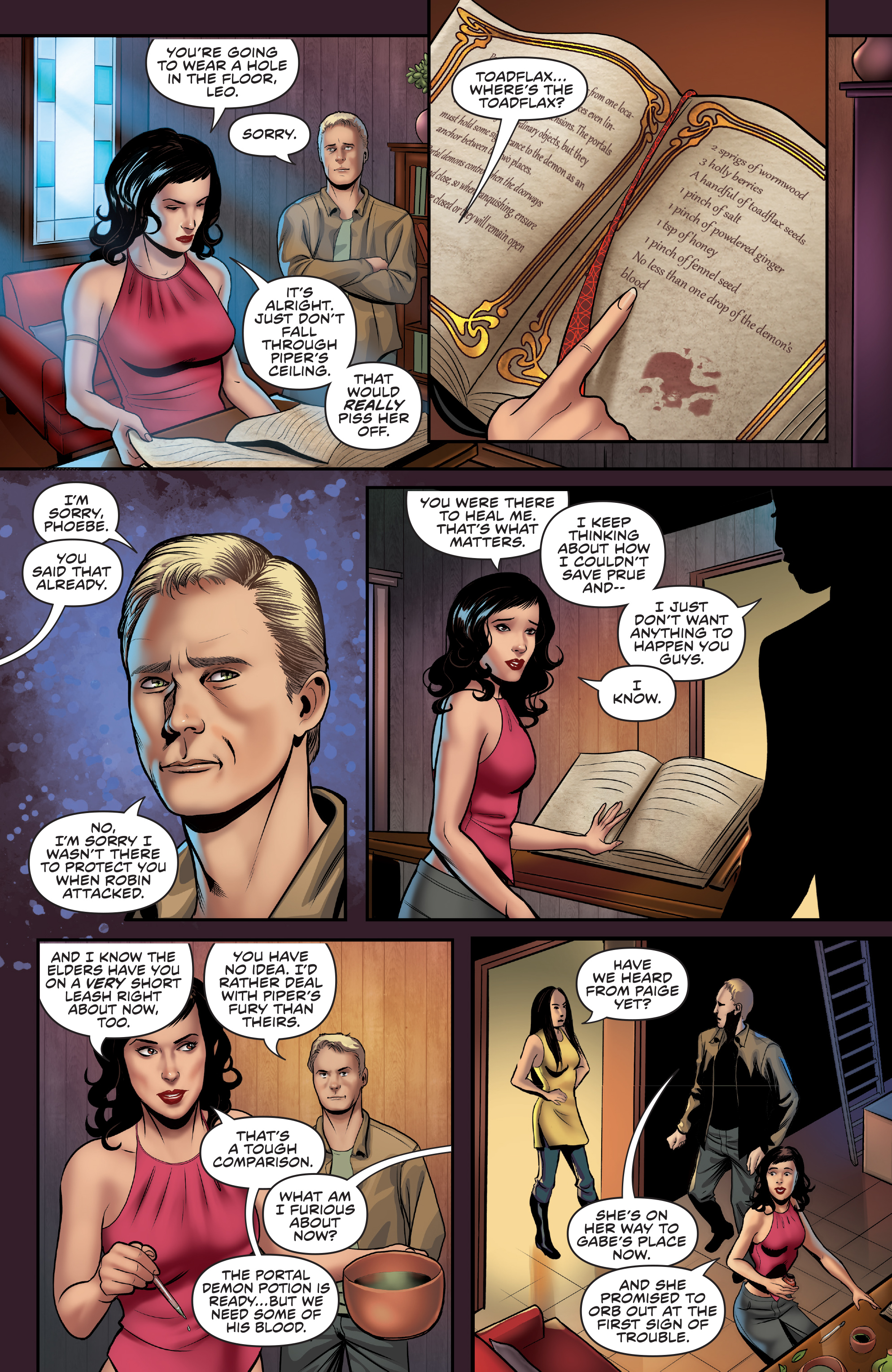 Read online Charmed (2017) comic -  Issue #3 - 21