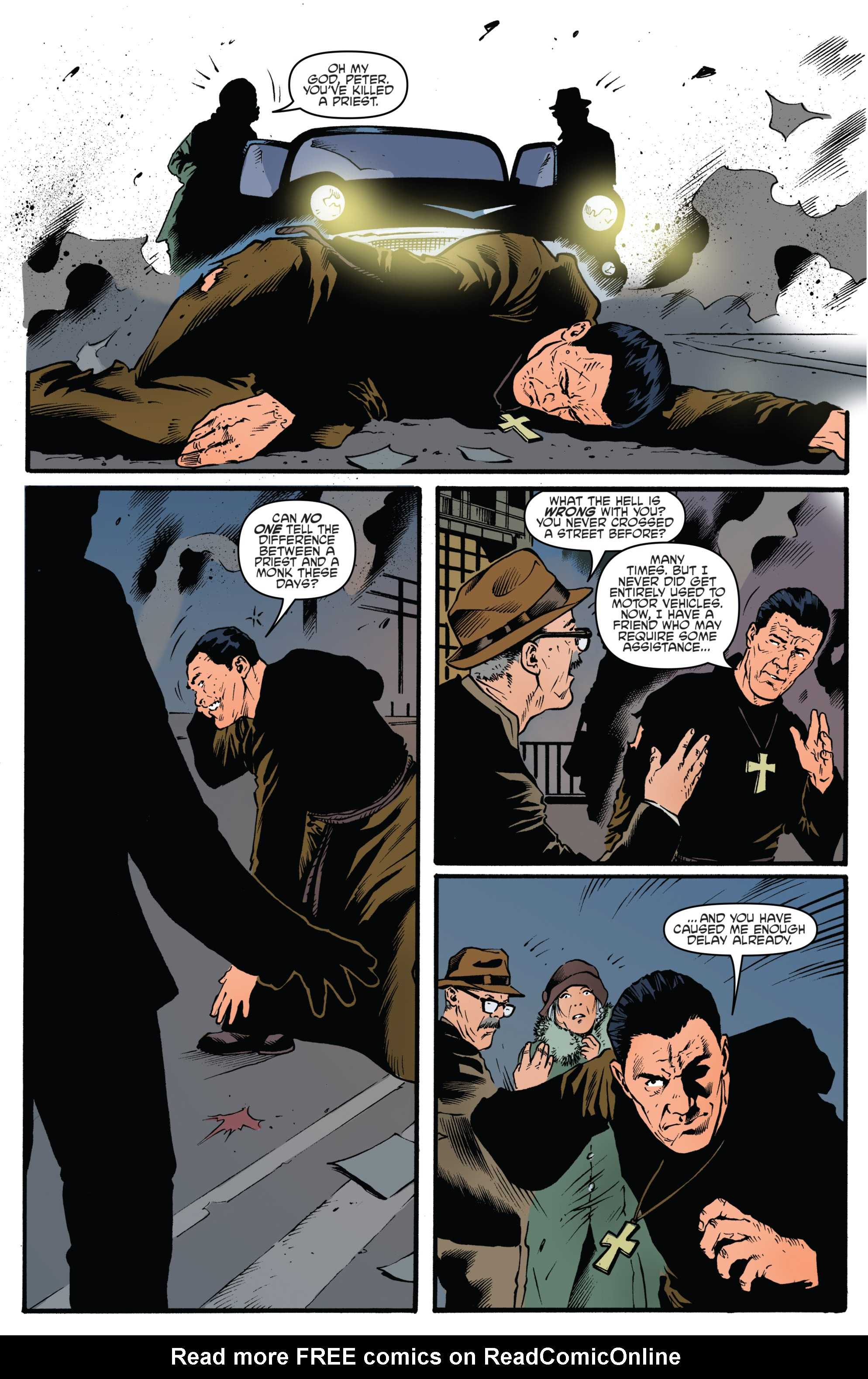 Read online Highlander: The American Dream comic -  Issue #4 - 4