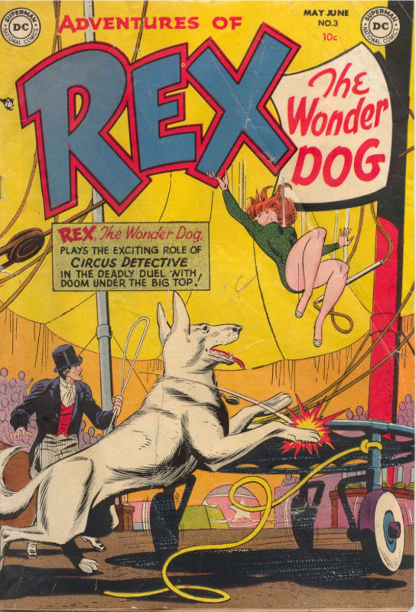 The Adventures of Rex the Wonder Dog issue 3 - Page 1