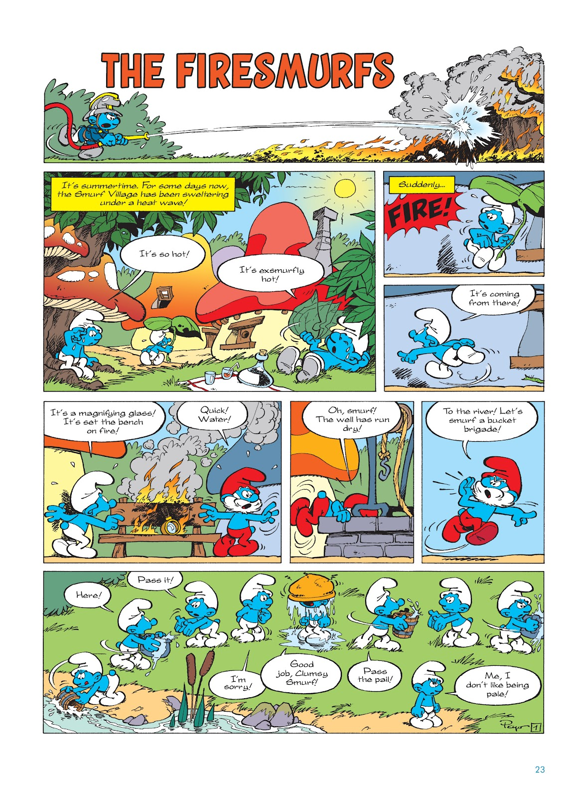 Read online The Smurfs comic -  Issue #16 - 24